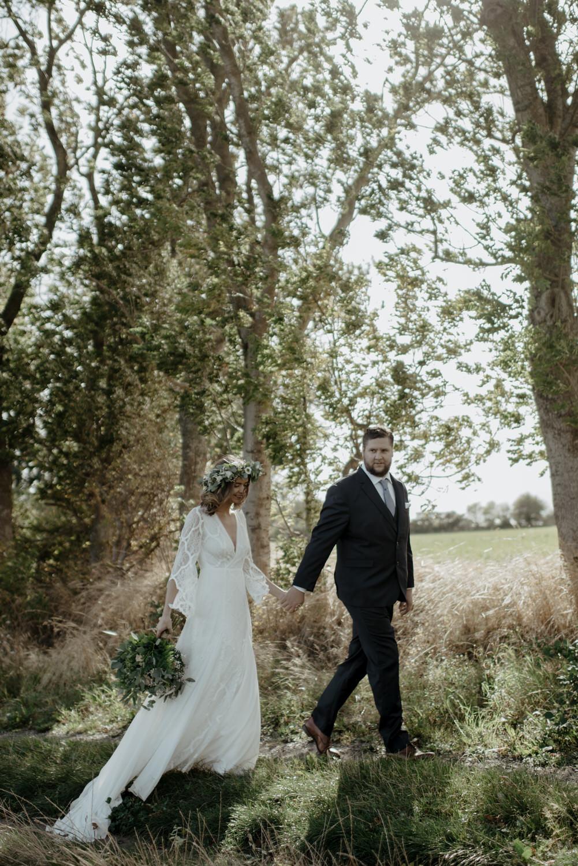 Bohemiskt bröllop på MårtenPers Källa, Skåne