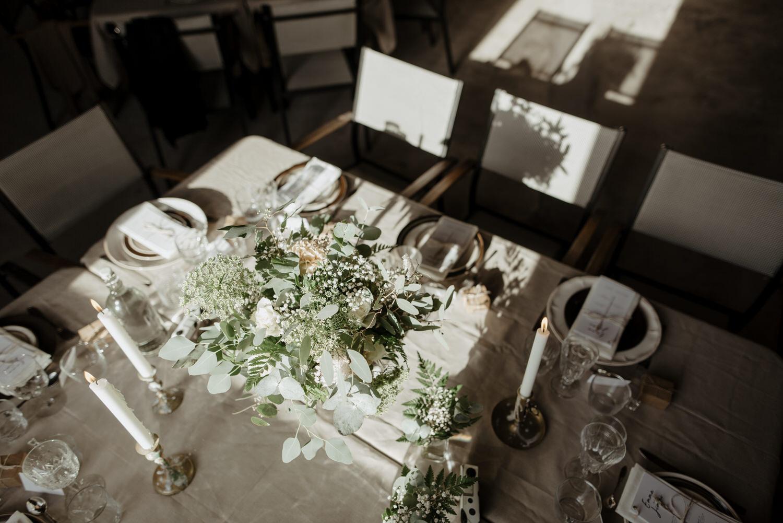 Bohemisk bröllopsdukning
