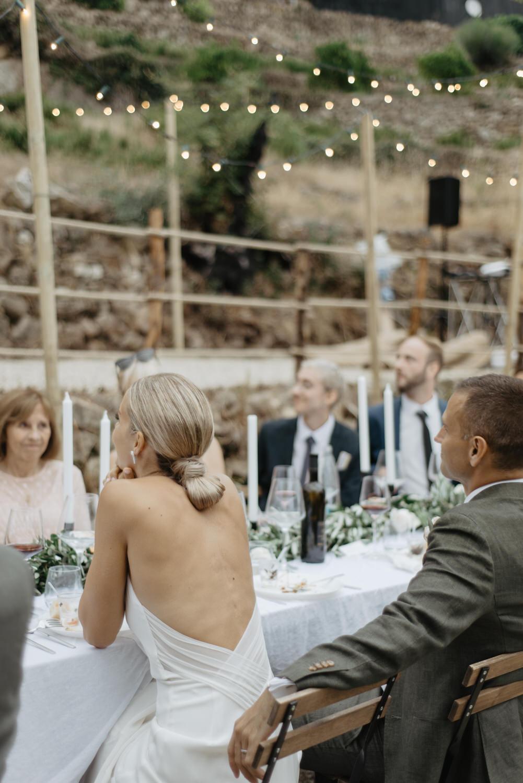Bröllopsmiddag i Italien, Fotograf Aase Pouline