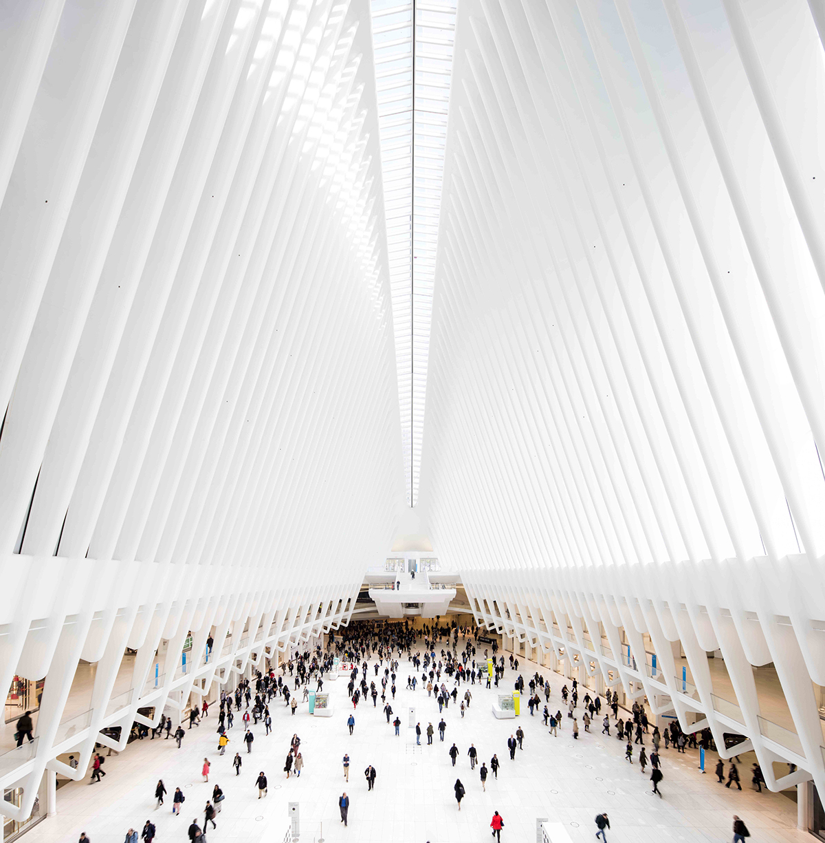 The World Trade Centre Oculus / Santiago Calatrava