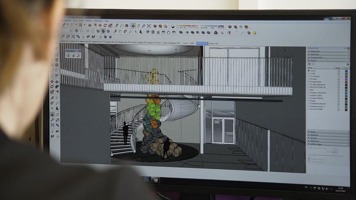 Oundle School Artwork / Draisci Studio.