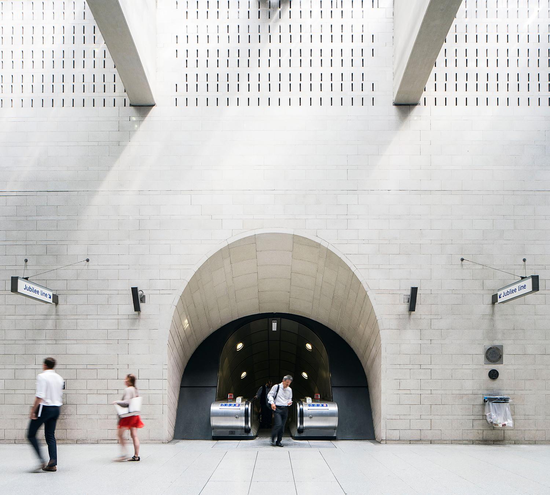 SOUTHWARK / JUBILEE LINE / ARCHITECT:MJP ARCHITECTS
