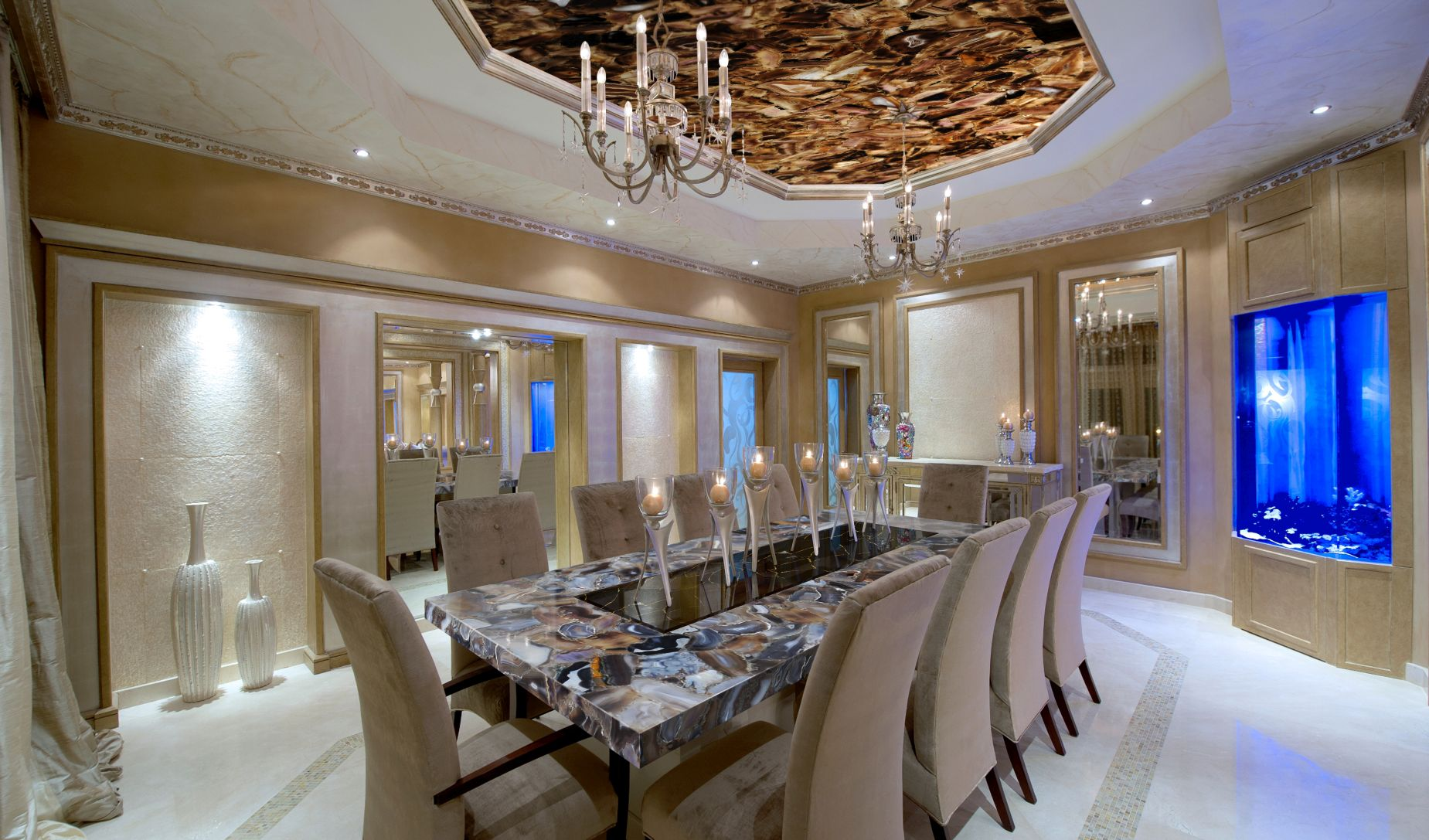 agate rubane + obsidian black with gold table top + backlit ceiling.jpg