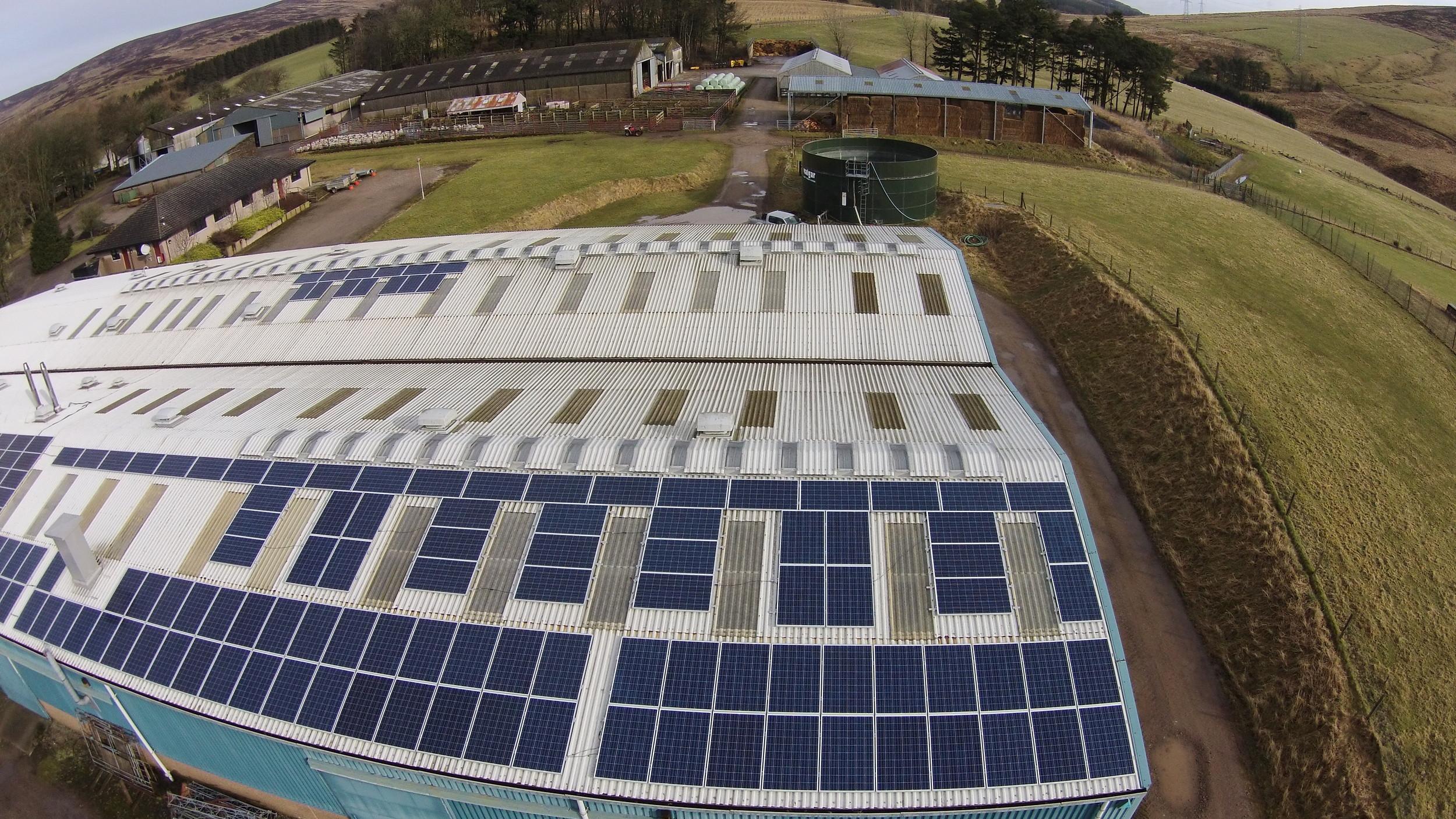 Glensaugh Solar - Operational