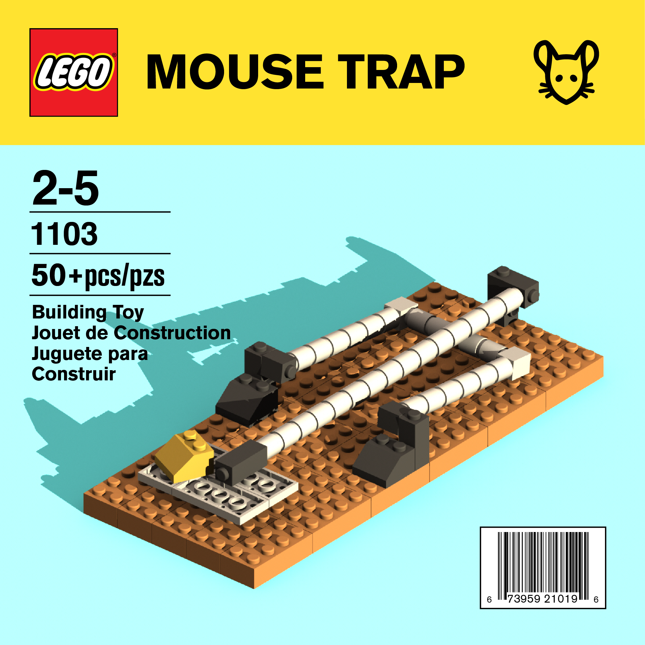 Dangerous Lego Kit - Mouse Trap