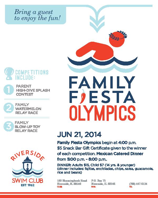 Family Fiesta Olympics