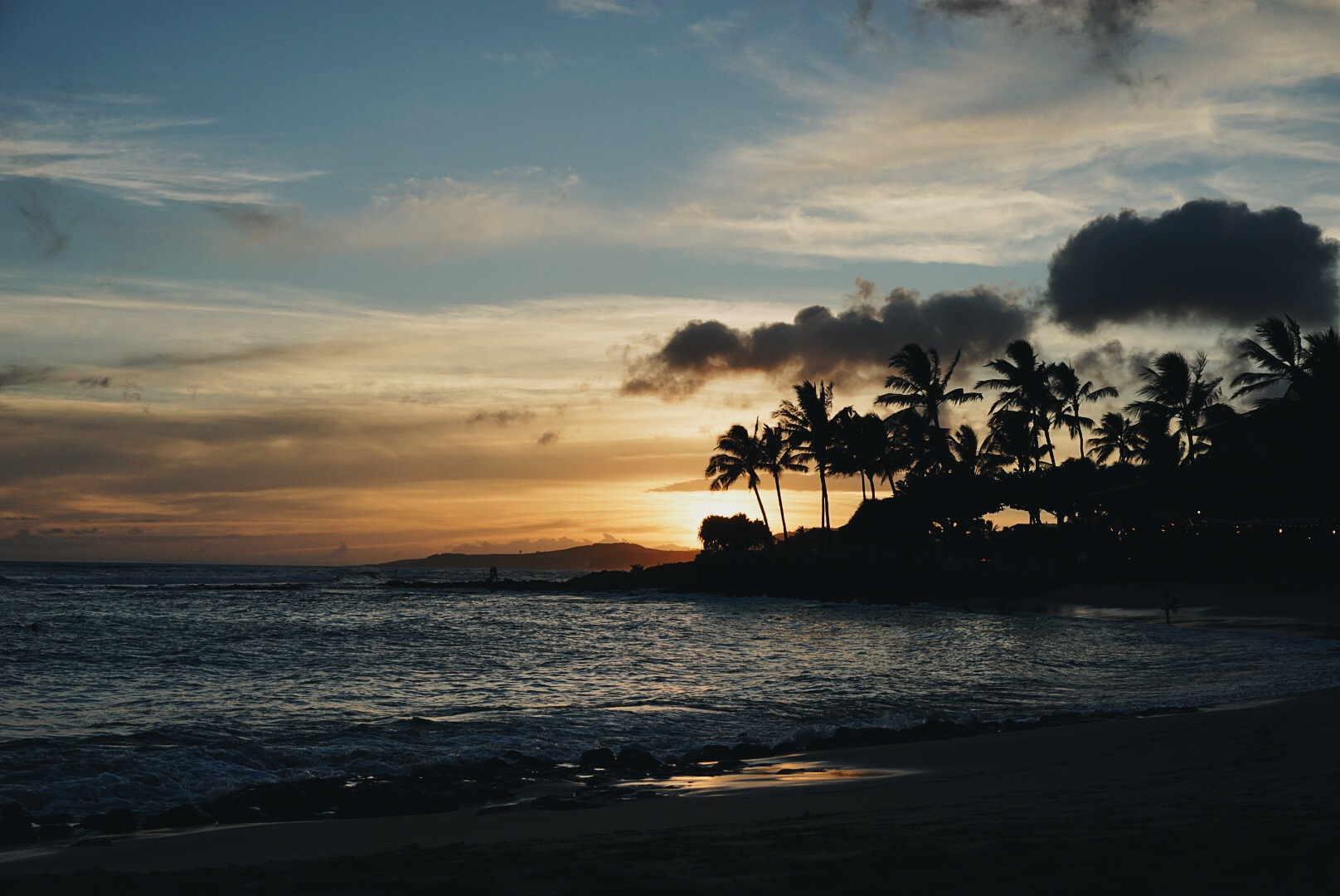 Sunsets on the south shore of Kauai are to die for.