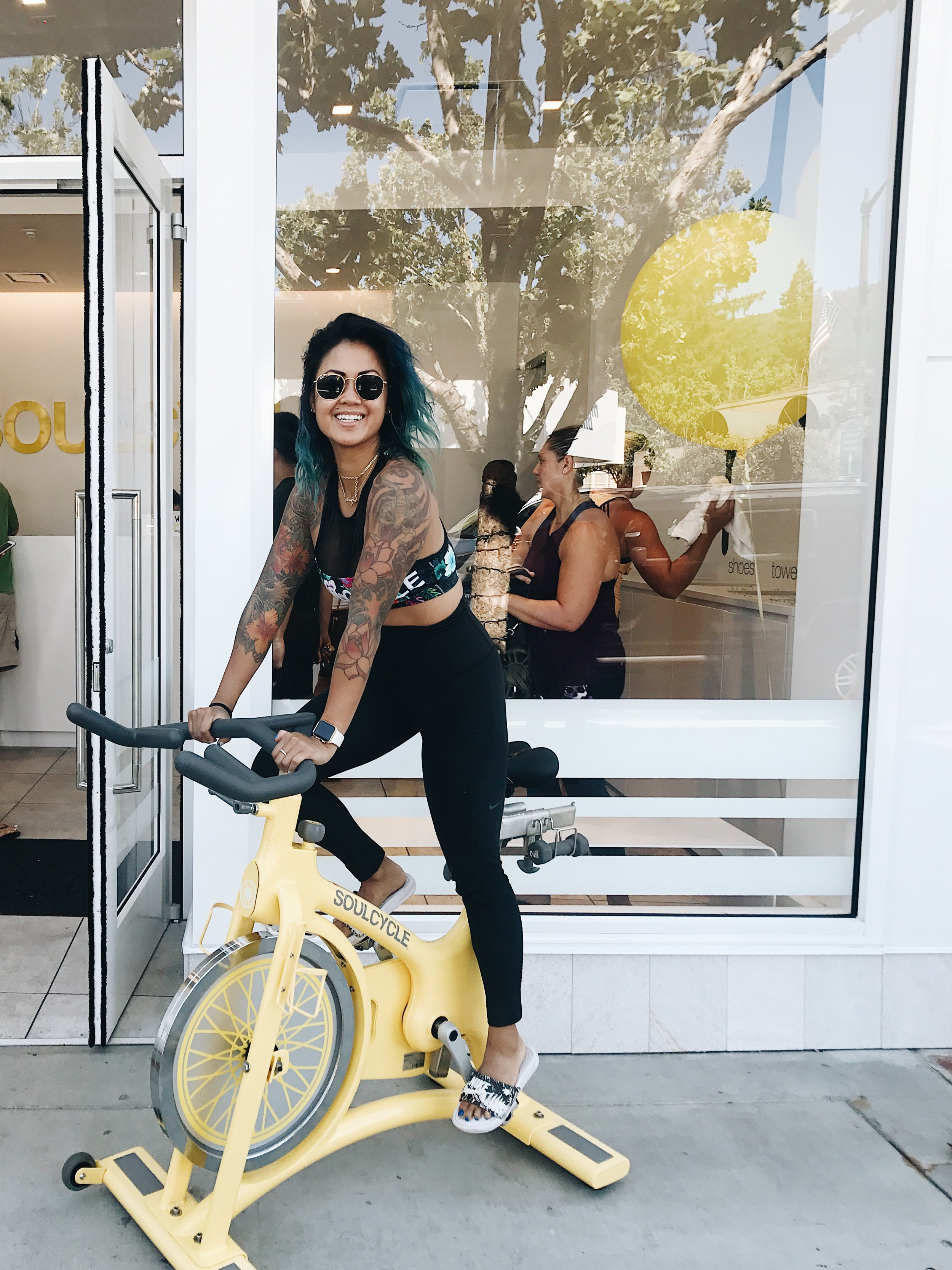 TAP IT BACK AT - SOULCYCLE GATO