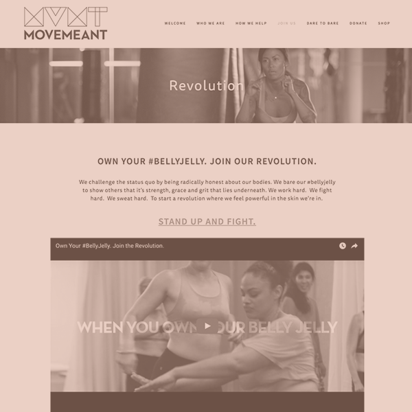 Movemeant Foundation: The Revolution -