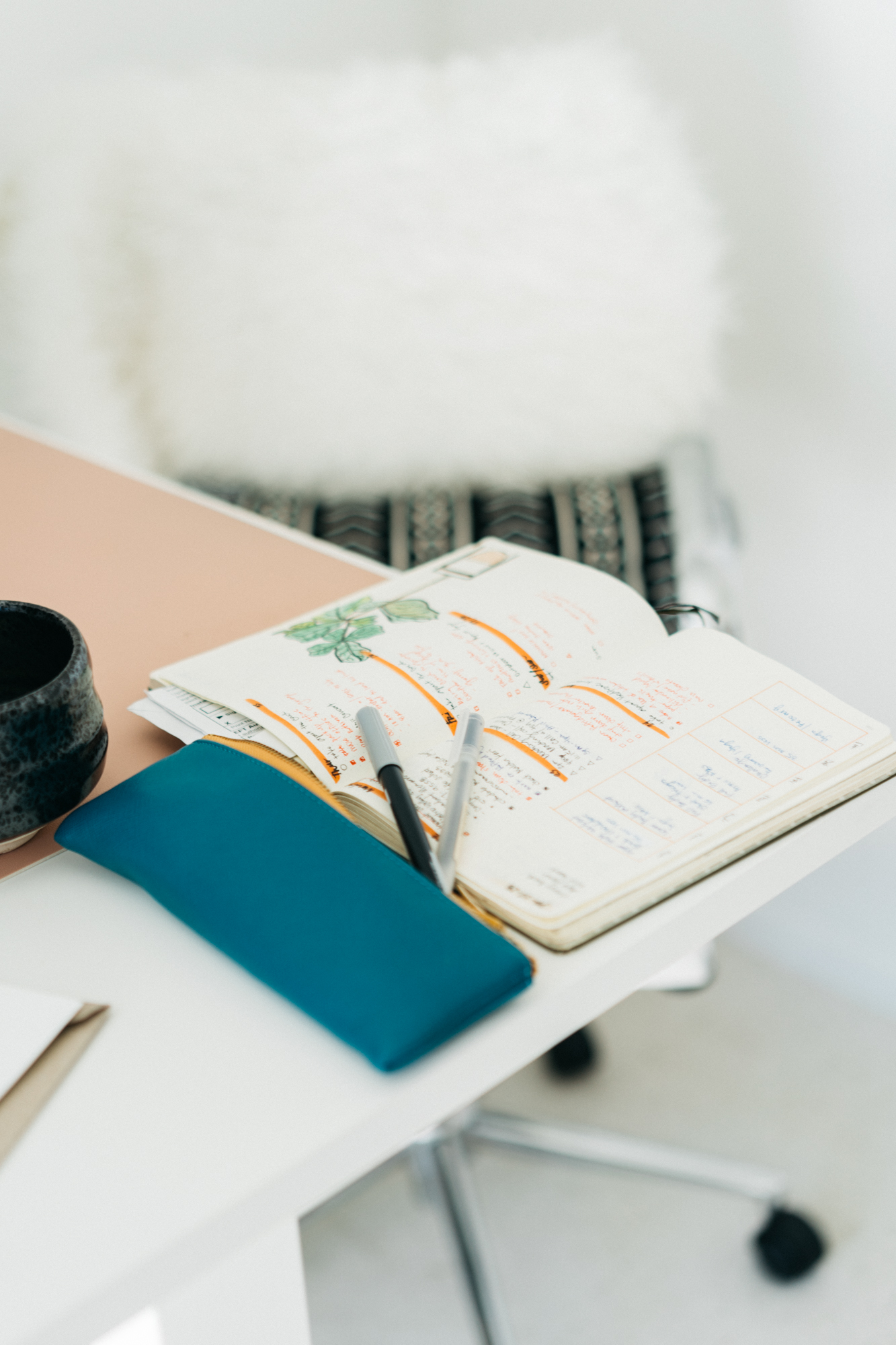 5. MYBULLET JOURNAL - I often travel without my husband and kids for work which is often the perfect opportunity for me to spend some time planning, writing, and reflecting.