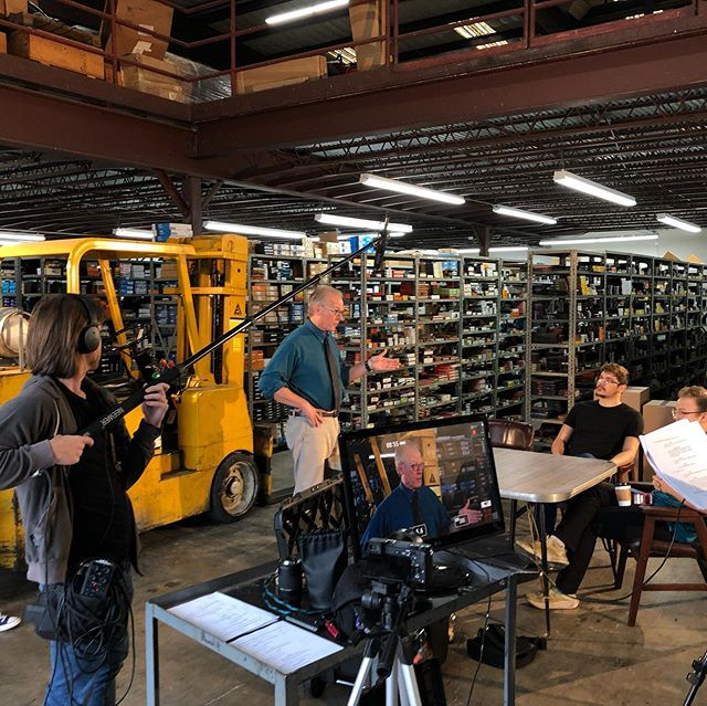 The @filmsanantonio  film commission in San Antonio is a great partner for all if you filmmakers out there. Be sure to utilize their directory. They helped us find Bohl's Bearing for our commercial shoot last weekend.