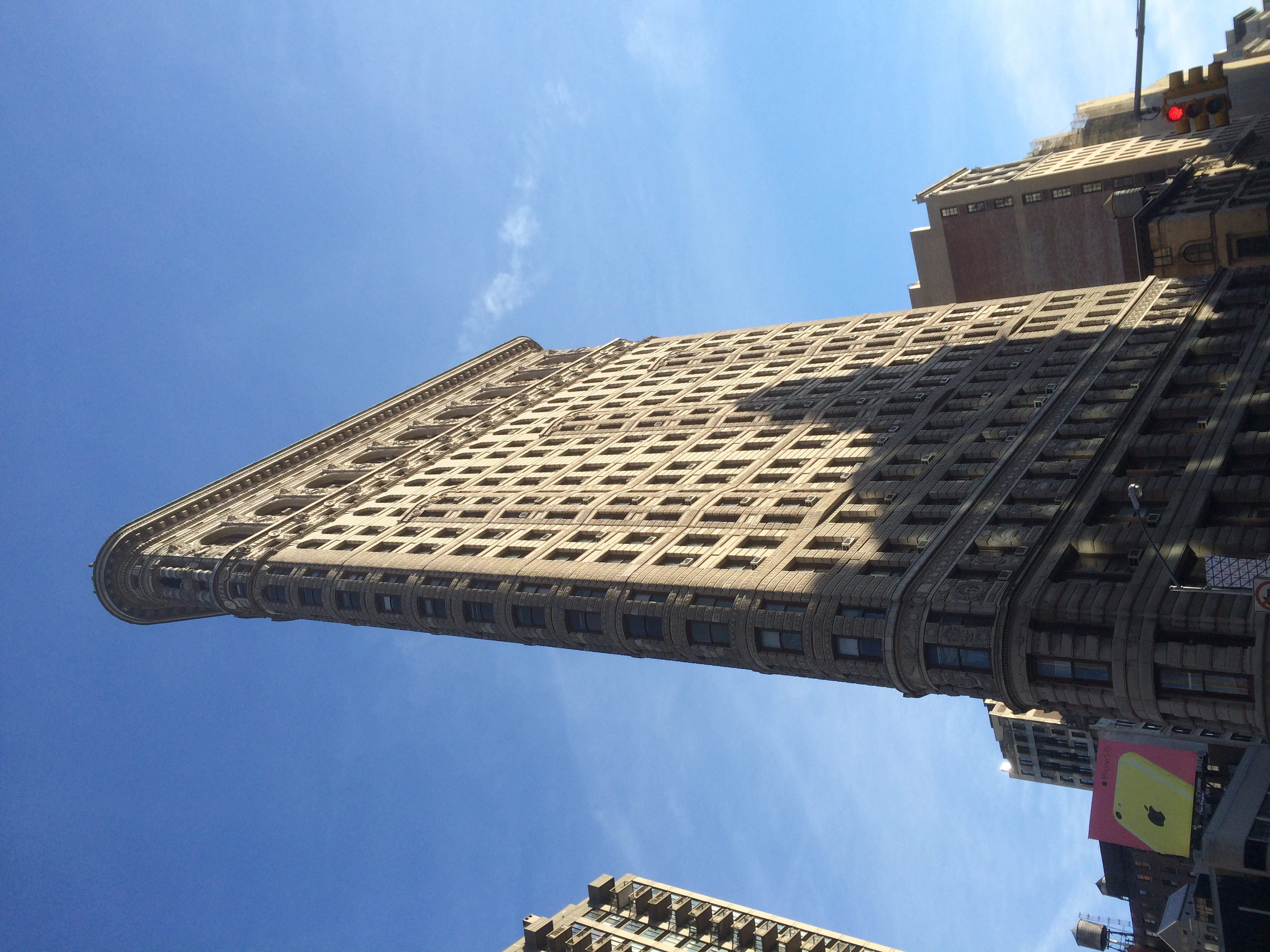 Behold the Flatiron Building in all its glory.