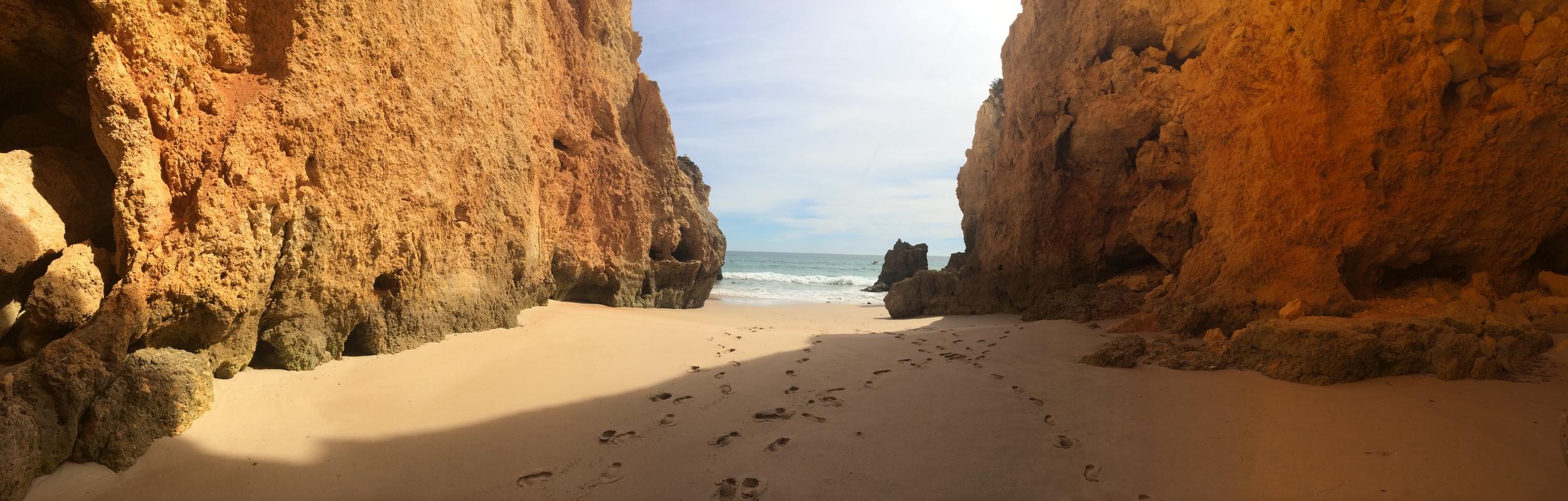 Look! My very own beach!