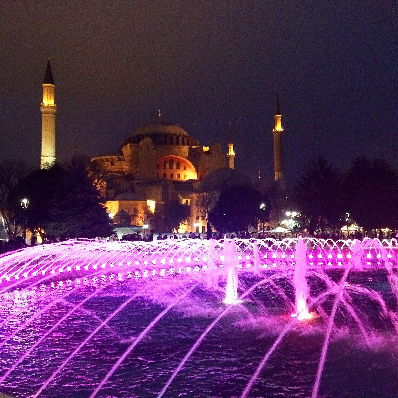 The Hagia Sofia -Istanbul, Turkey