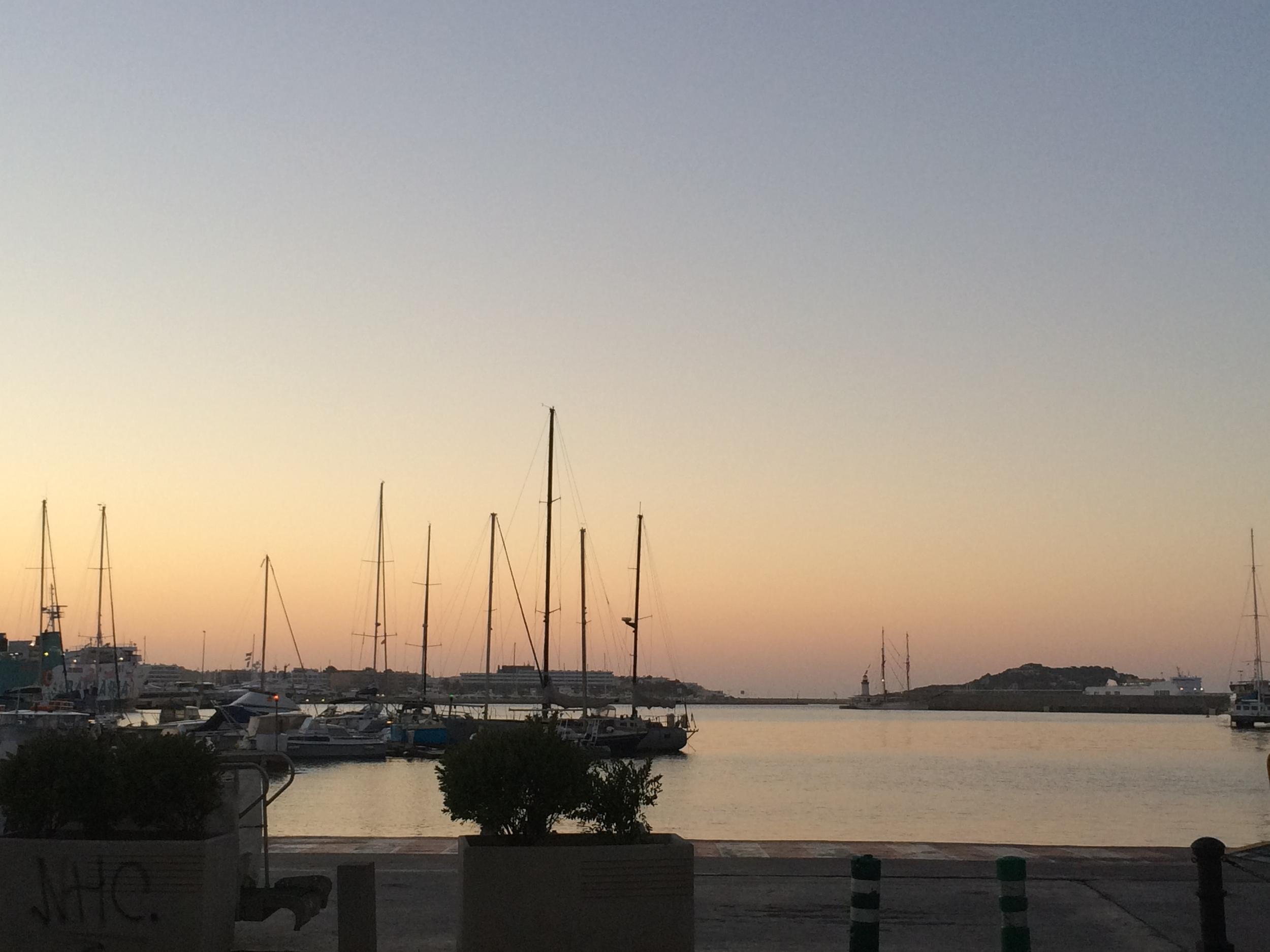 Good morning Ibiza!