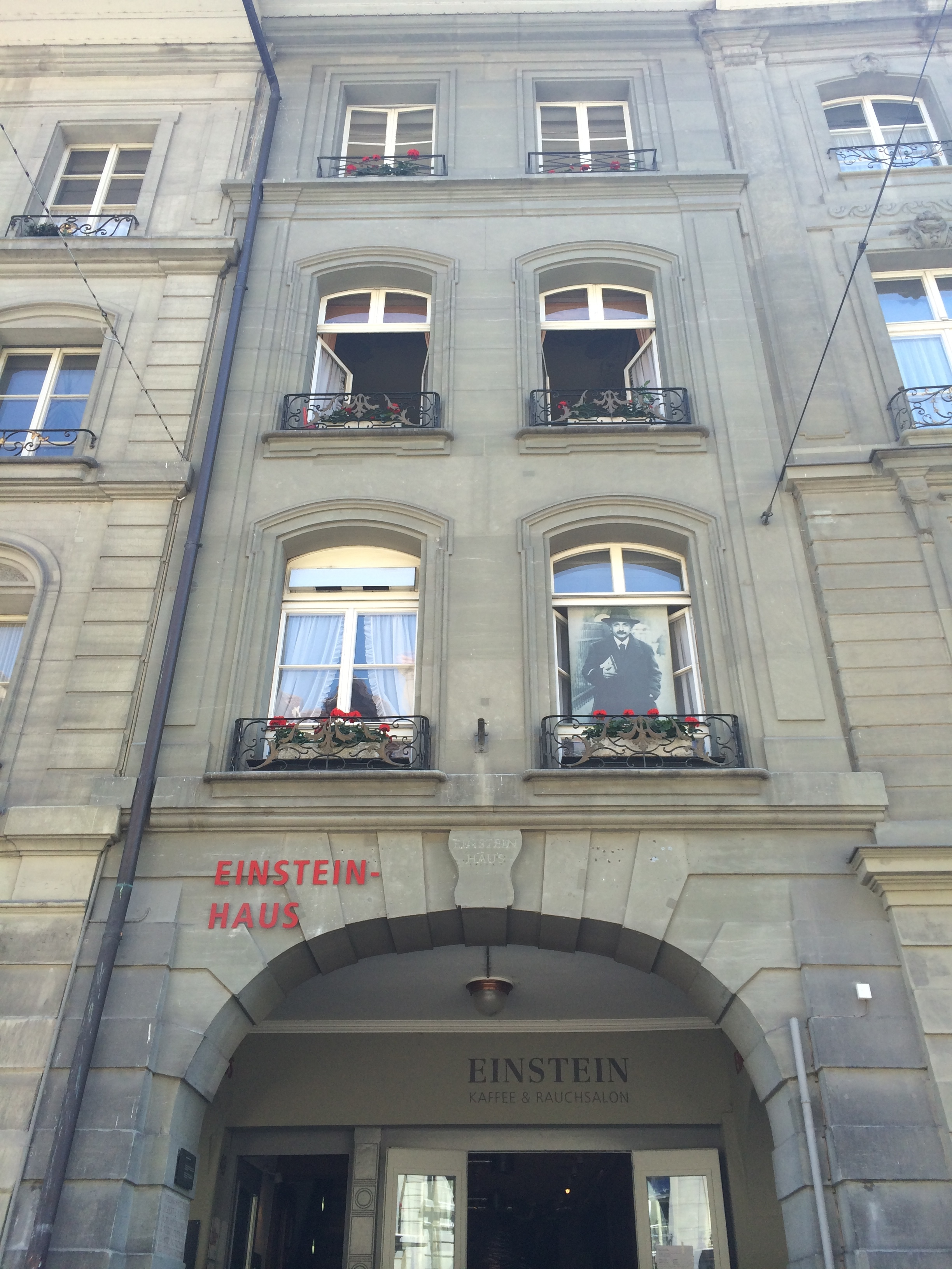 I was fascinated with Einstein growing up, to see his apartment in person was beyond exciting for me.