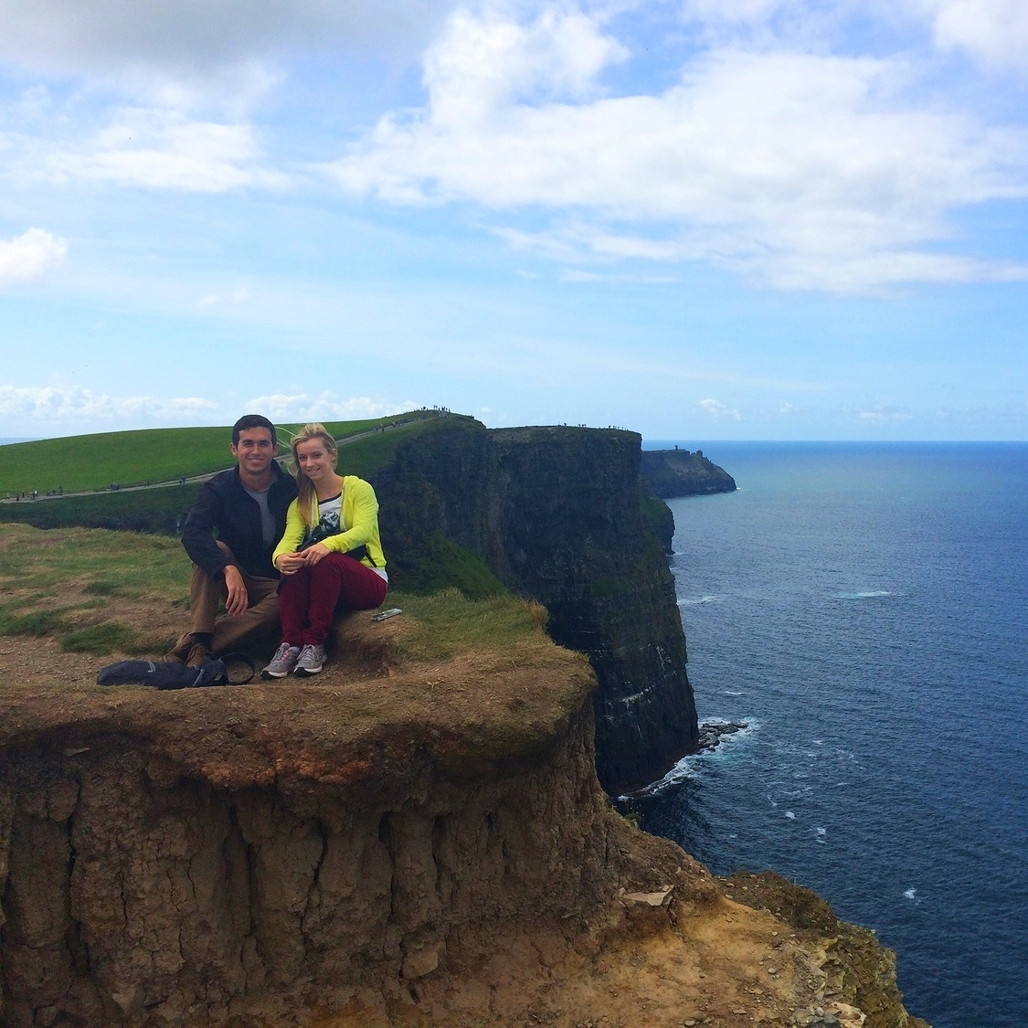 I never though I'd be back in Ireland five years later, but I couldn't be happier. (August 2014)