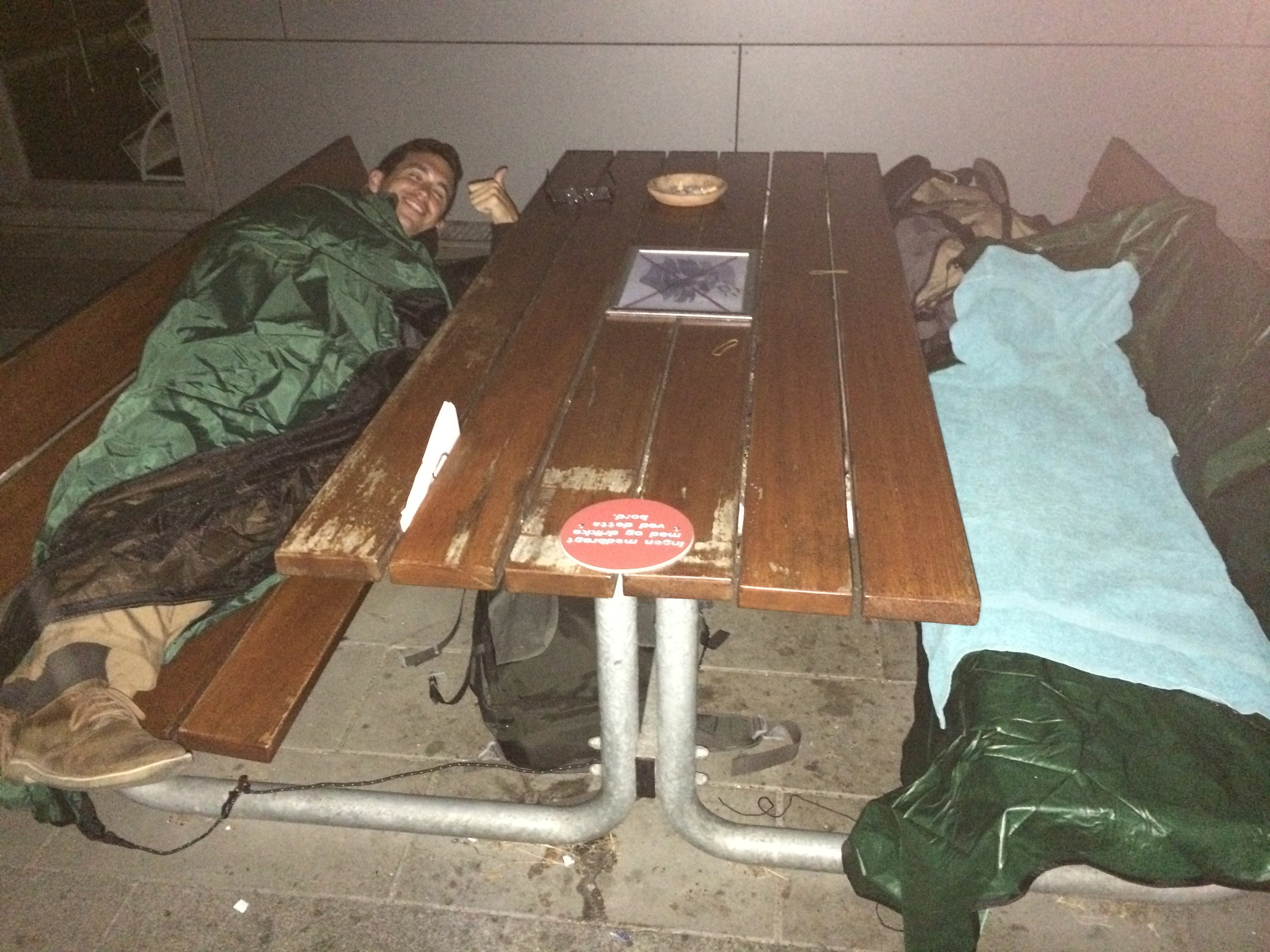 All it takes is one night on the streets to appreciate the comforts of home.