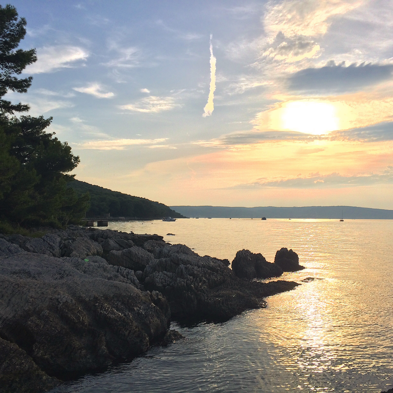 Sunset in Split. I find myself now scheduling my day around sunsets.