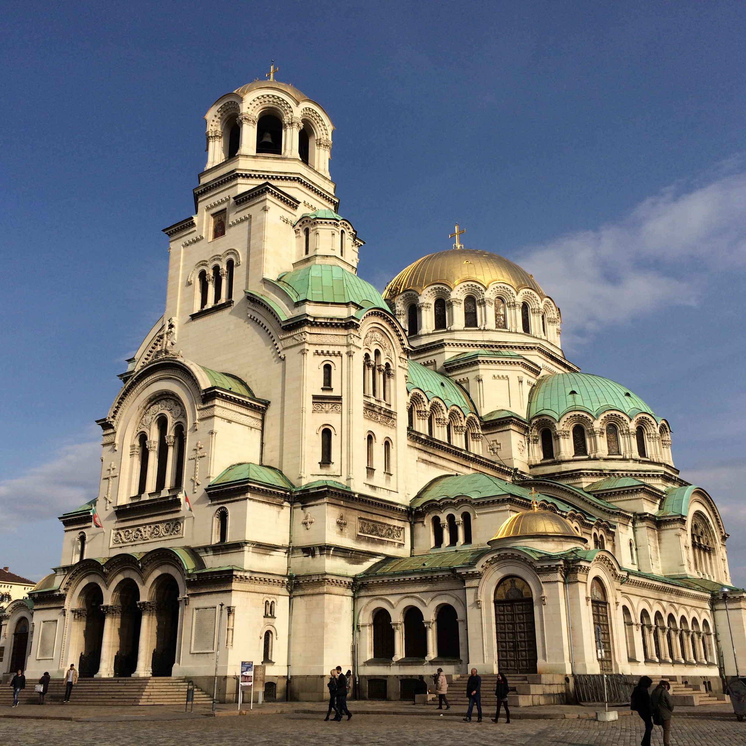 The Alexander Nevsky Cathedral is unbelievably large. I've never seen such a large church outside of the Vatican.