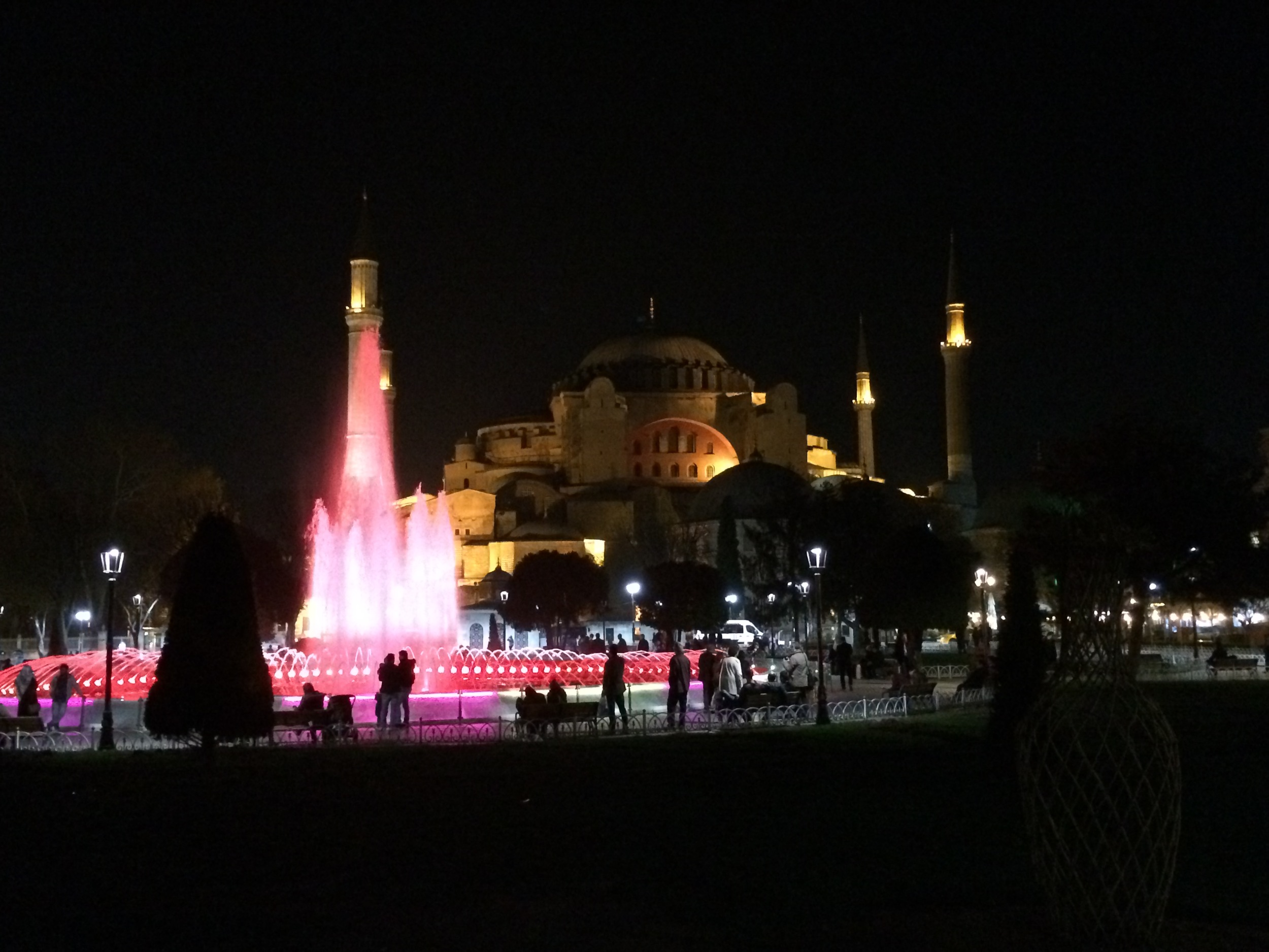 The world famous Hagia Sofia.