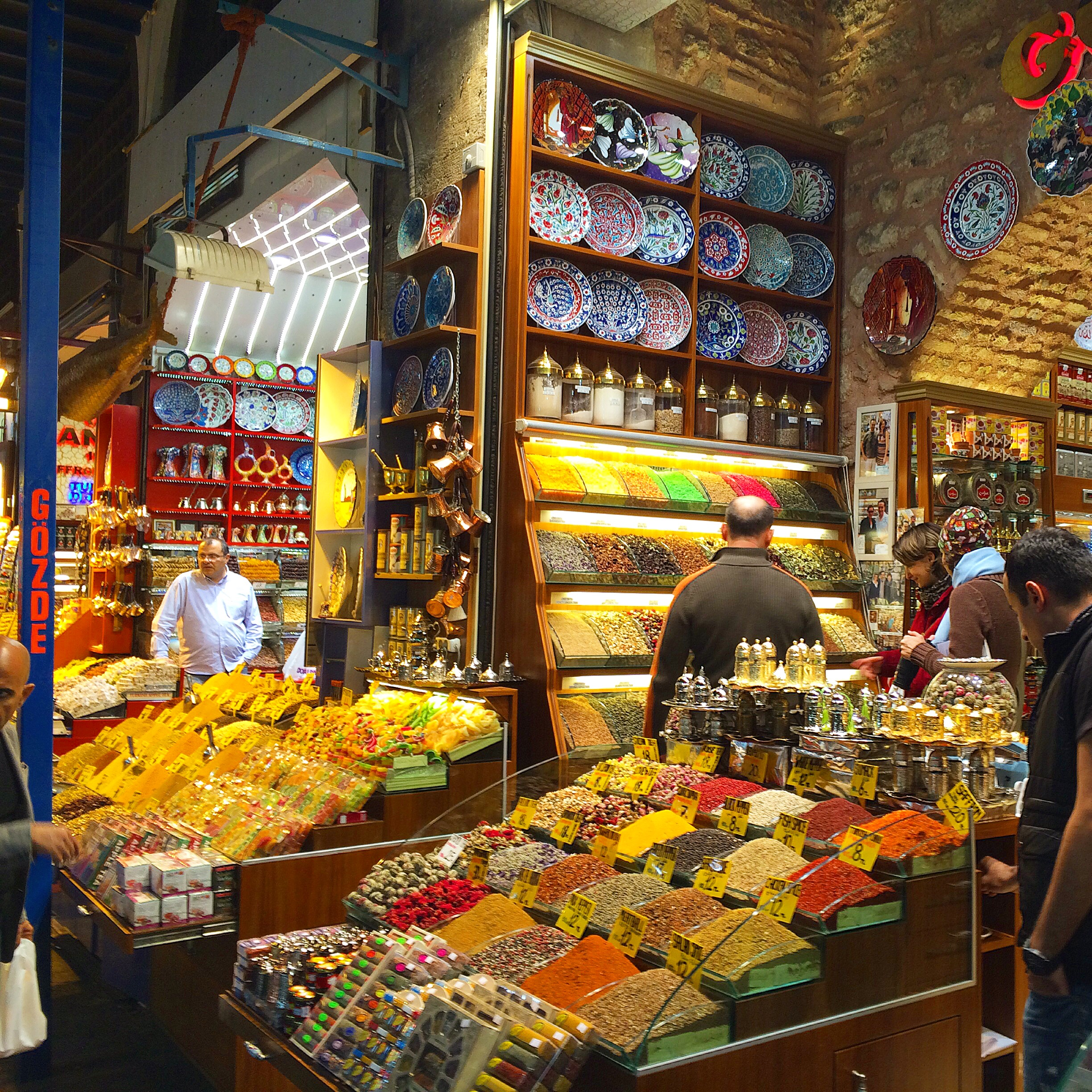 I can almost smell the aromas just by looking at a picture of the Spice Market.