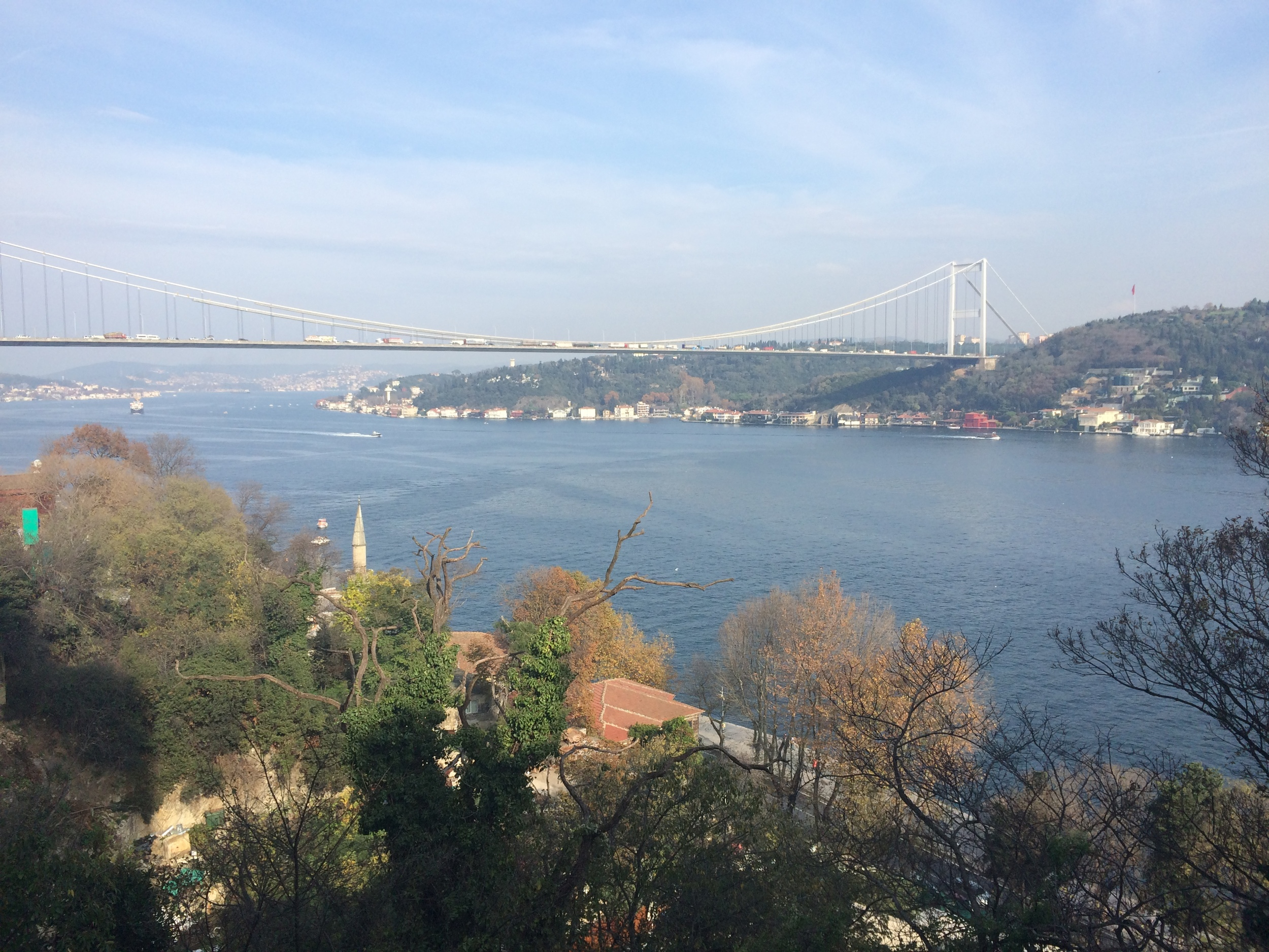 Up in the hills of Babek overlooking the Bosphorus Strait.