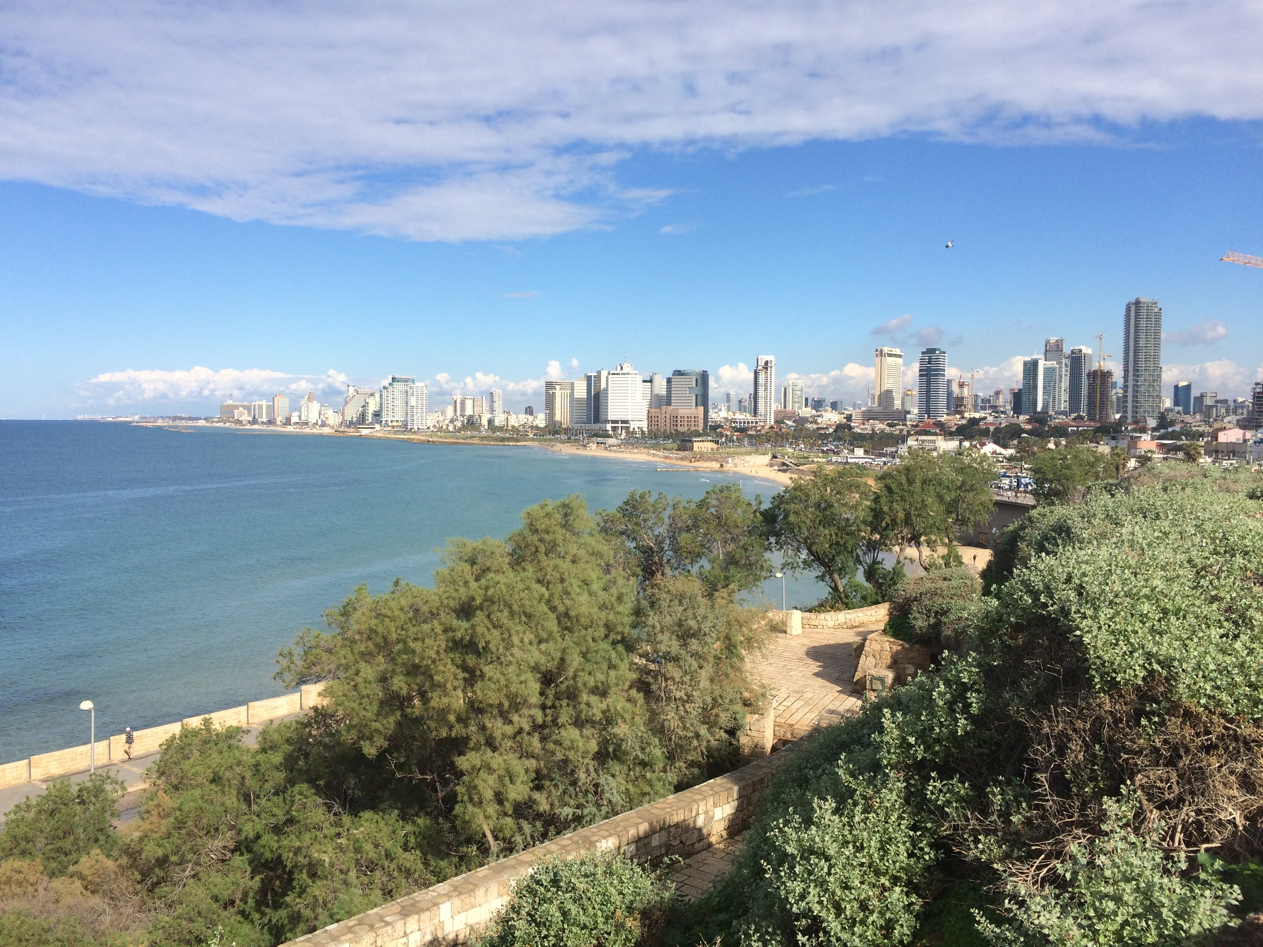The wonderful city of Tel Aviv.