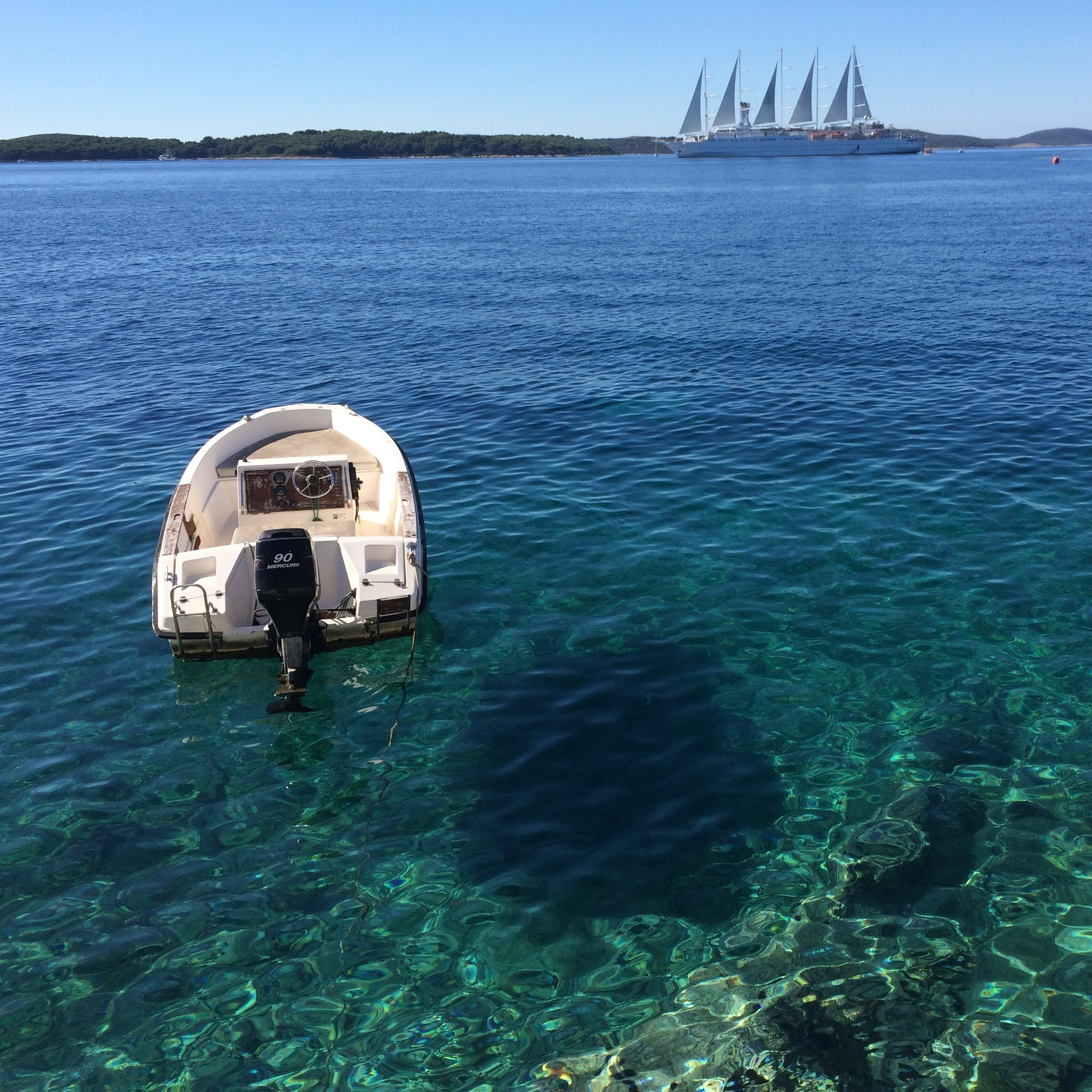 If I didn't take risks I'd never of found paradise in Hvar, Croatia.