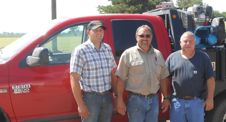 Drew, Toby and Troy tenBensel – Arapahoe, NE