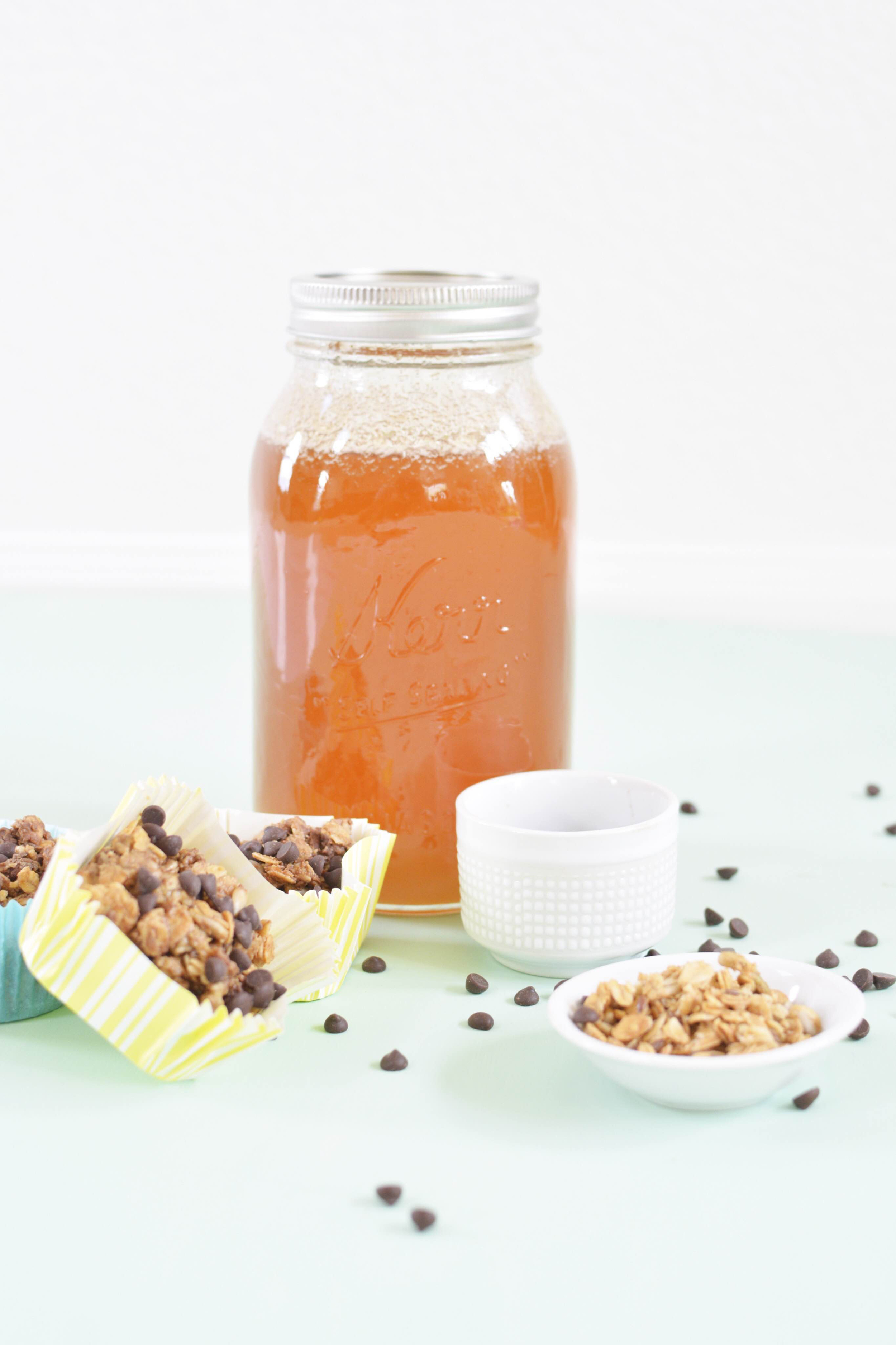 4 ingredient granola bars