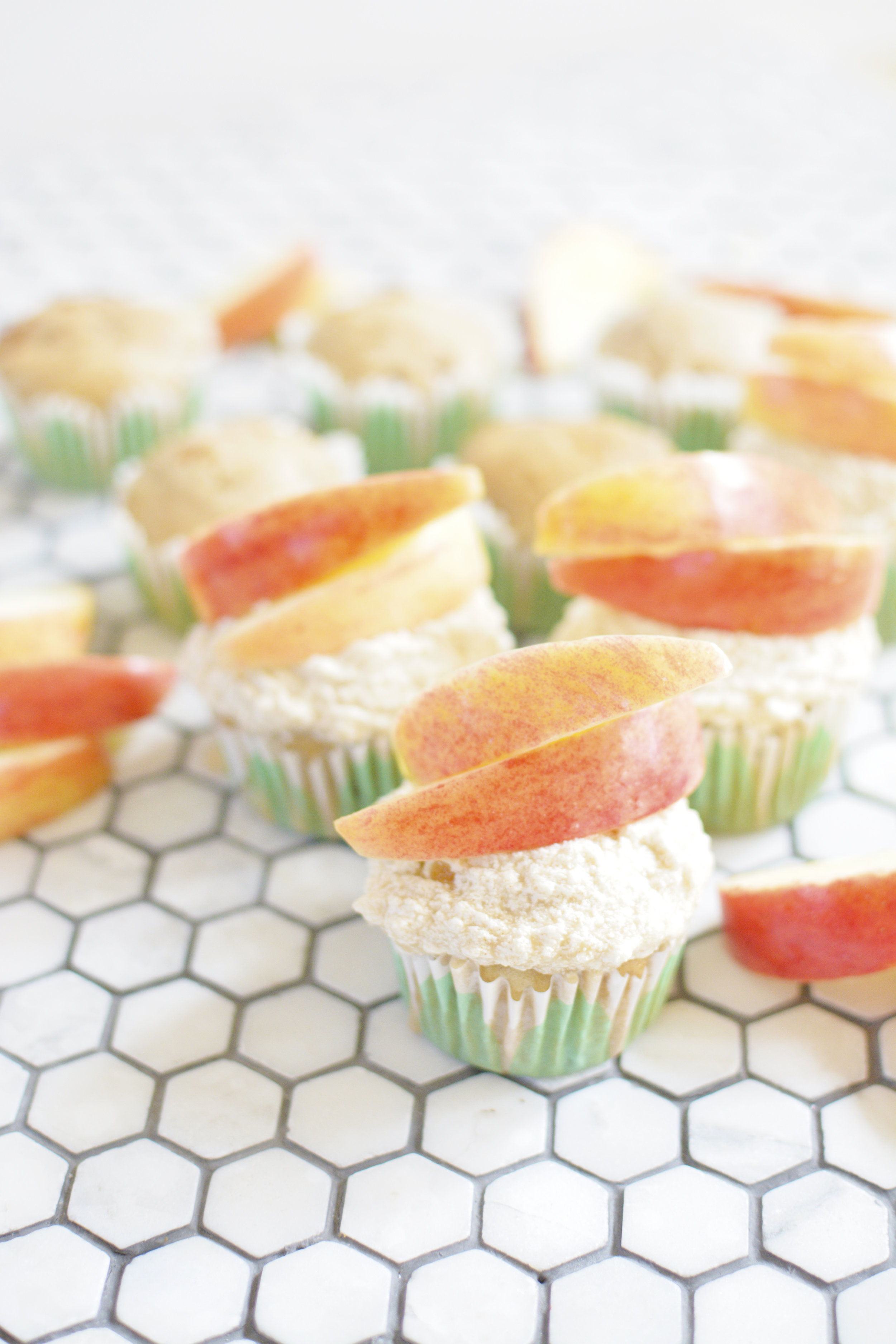 apple cinnamon vegan cupcakes