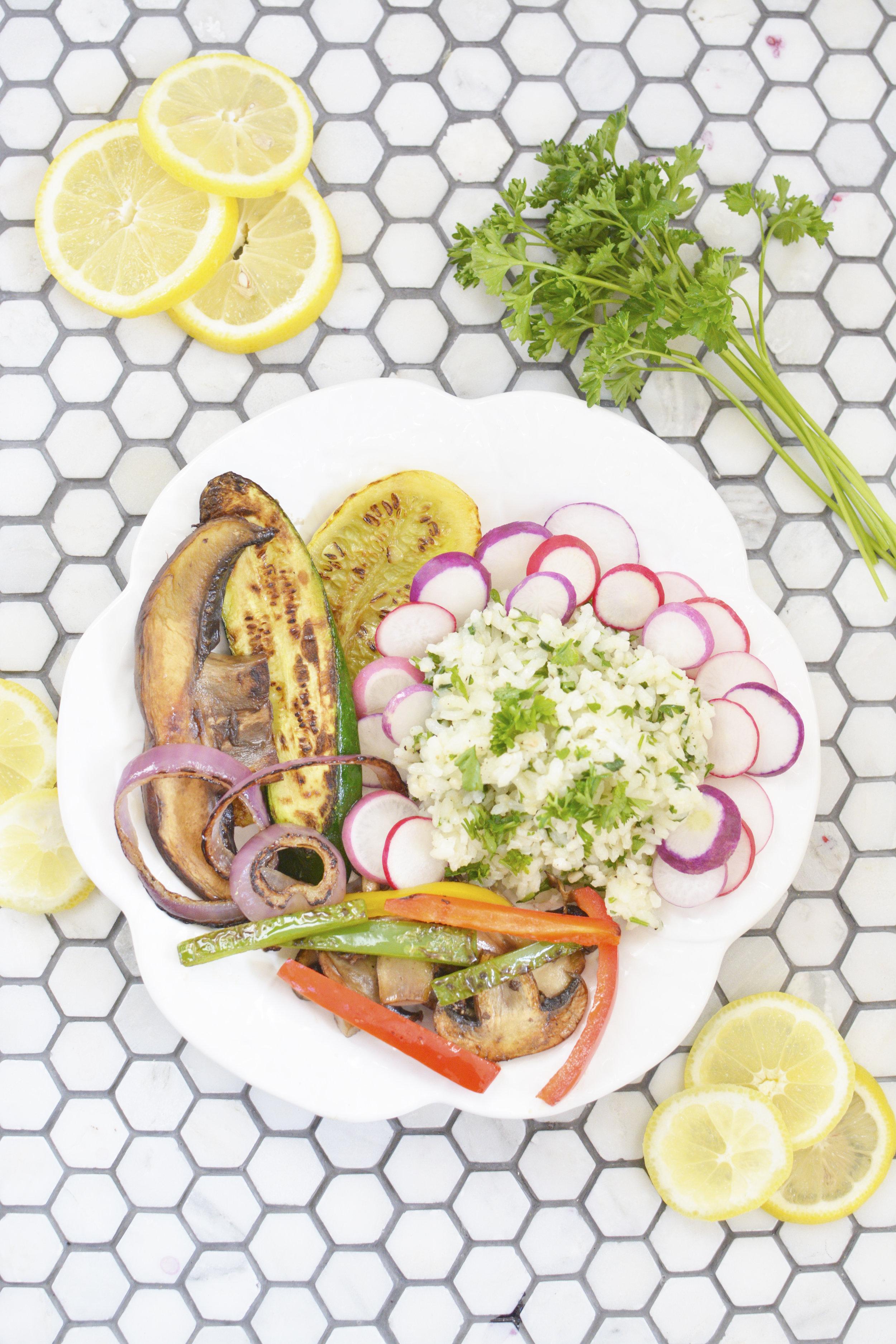 vegan gluten free dinner