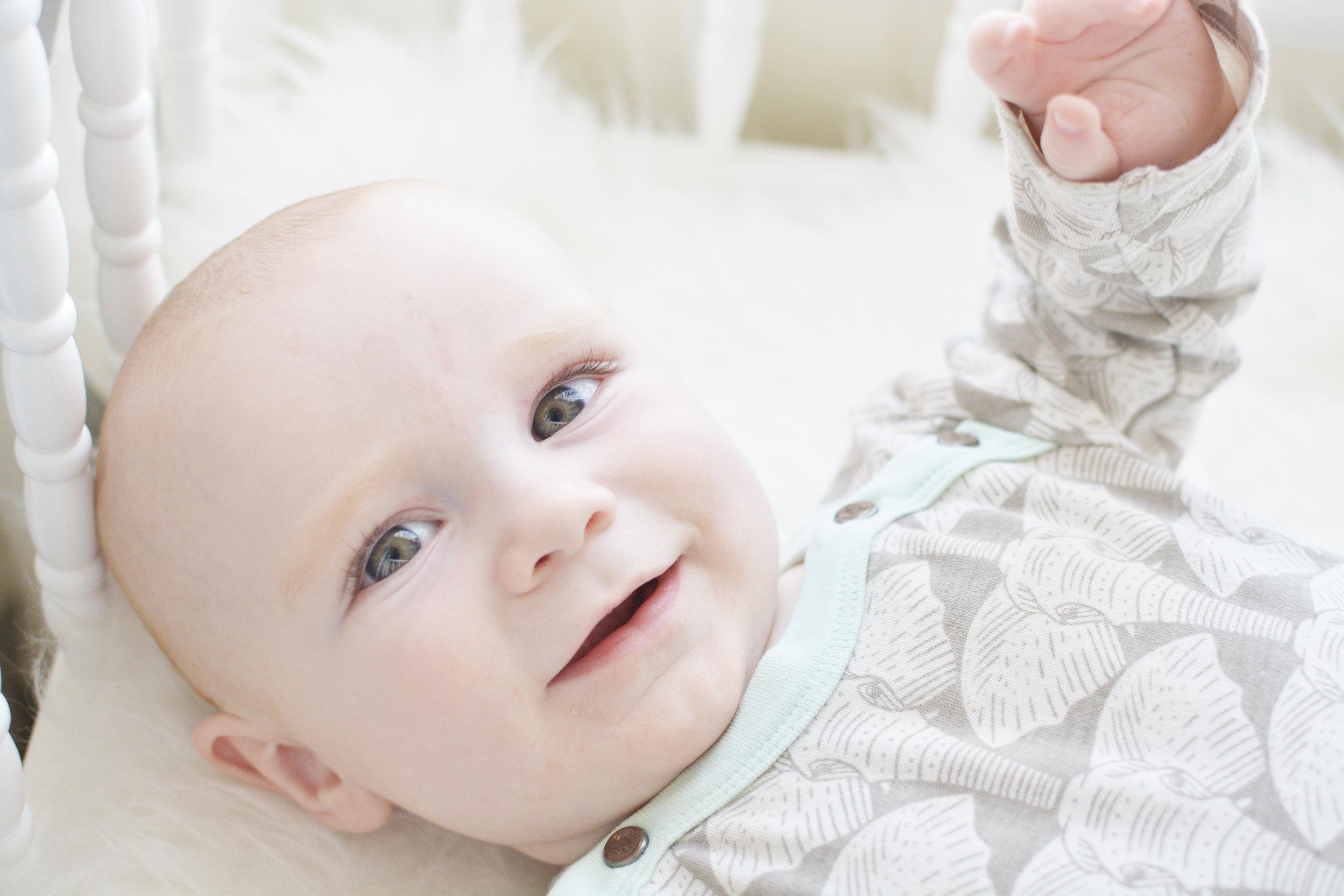 Organic baby clothing