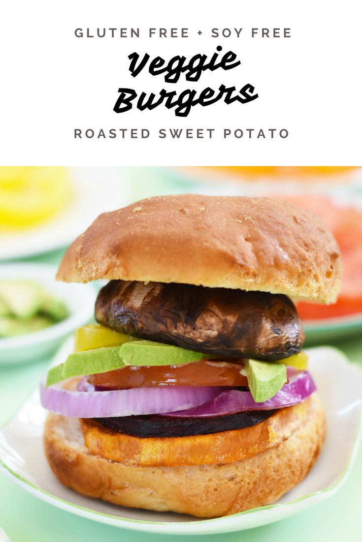 Soy free veggie burger