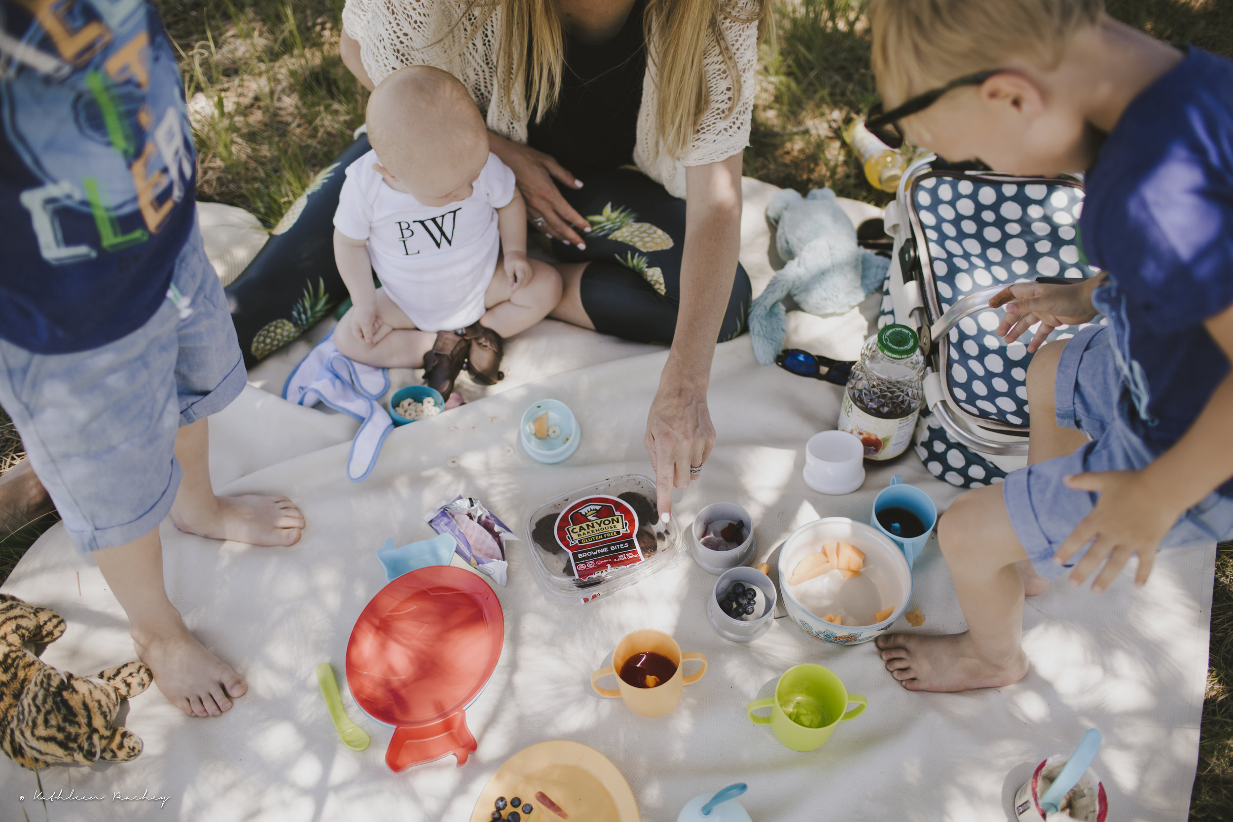 lifestyle photography family picnic