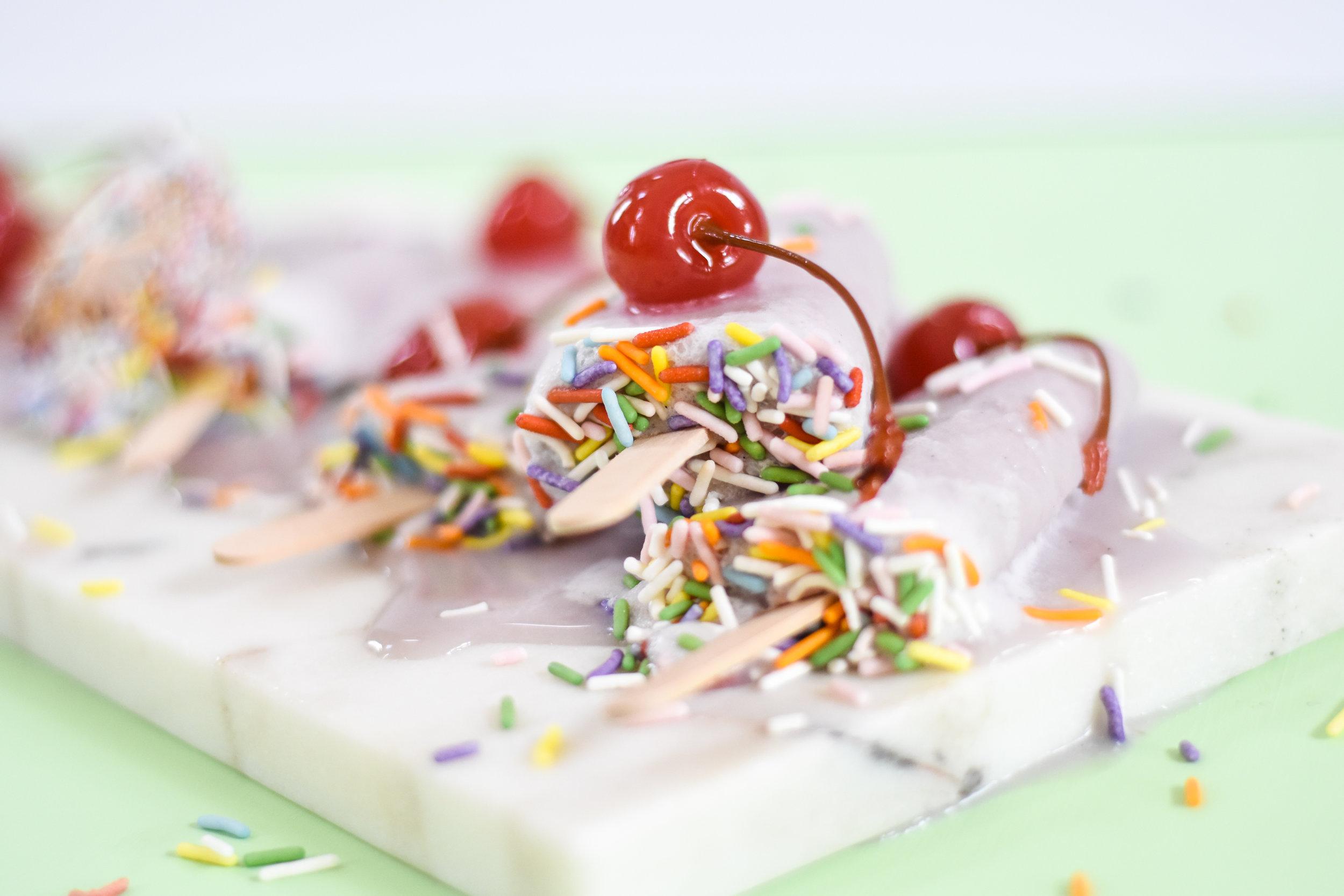 vegan cherry ice cream recipe