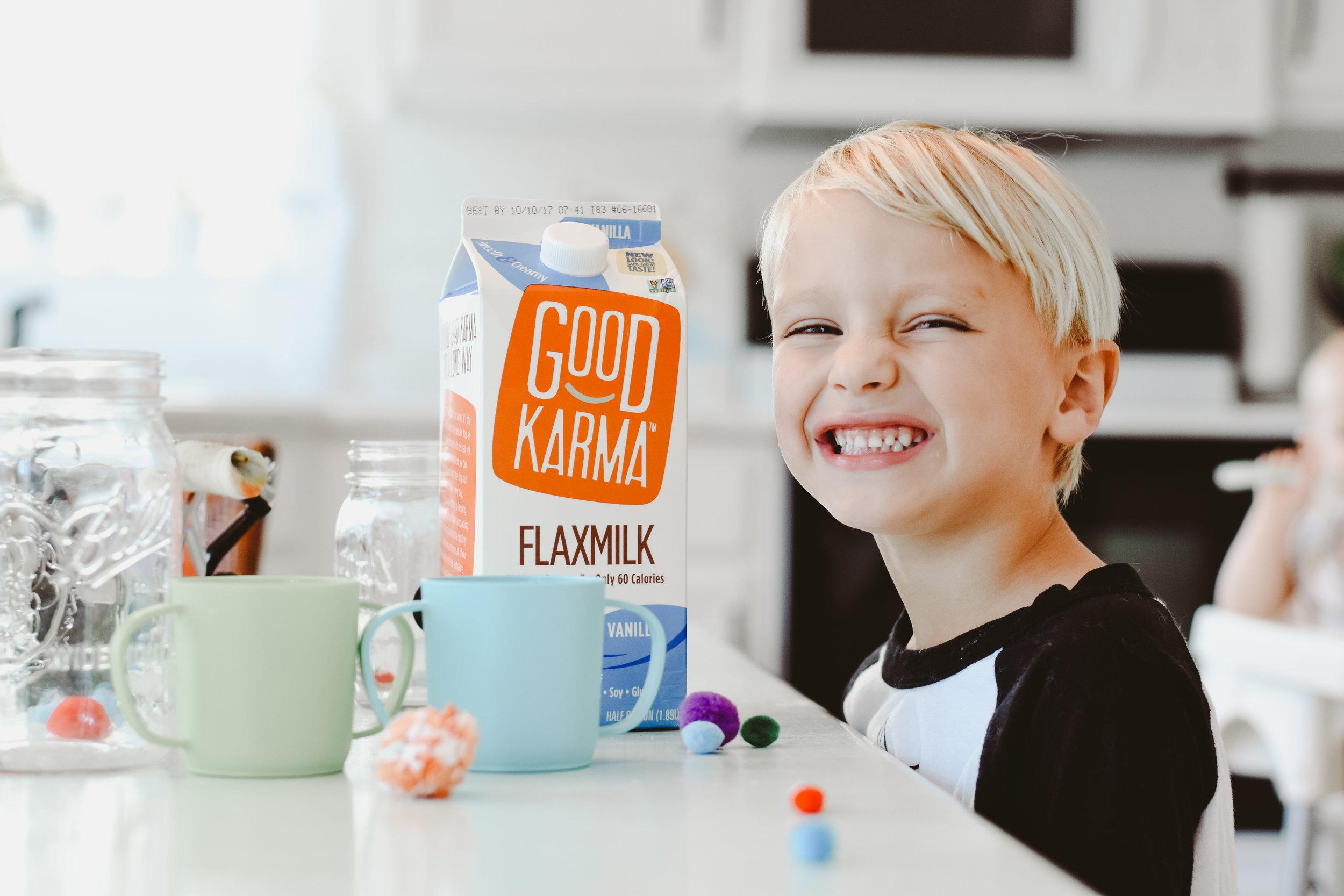 Dairy free milk. Vegan chia seed pudding recipe