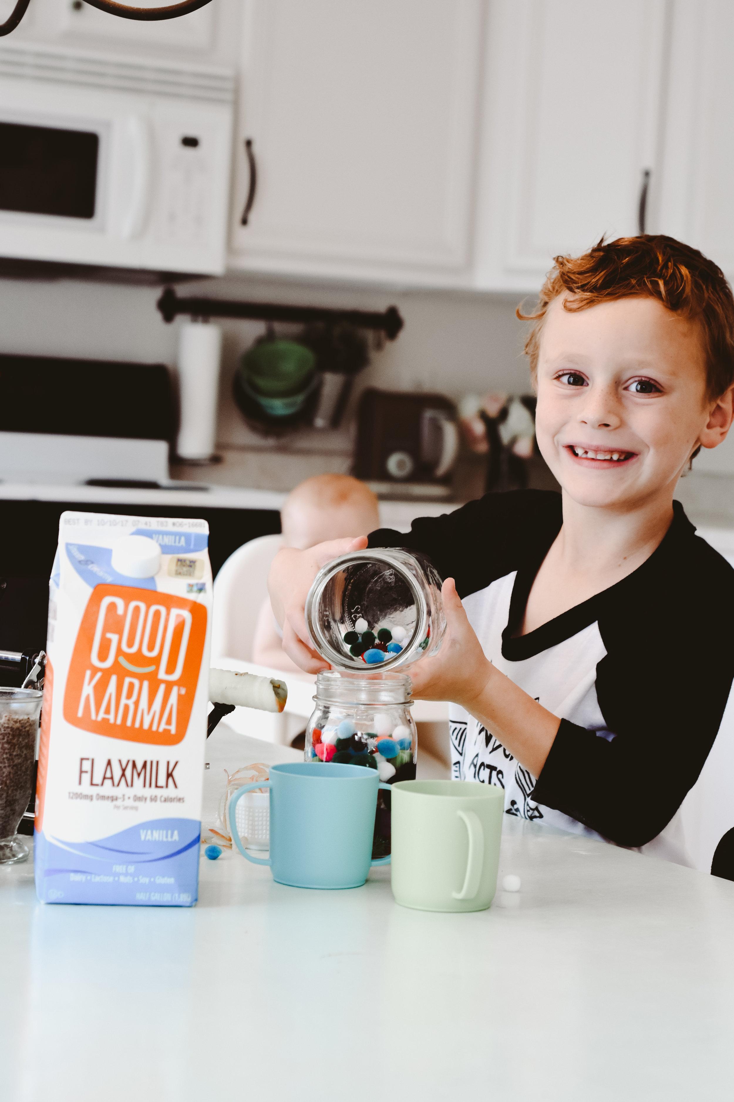 Dairy Free flaxmilk