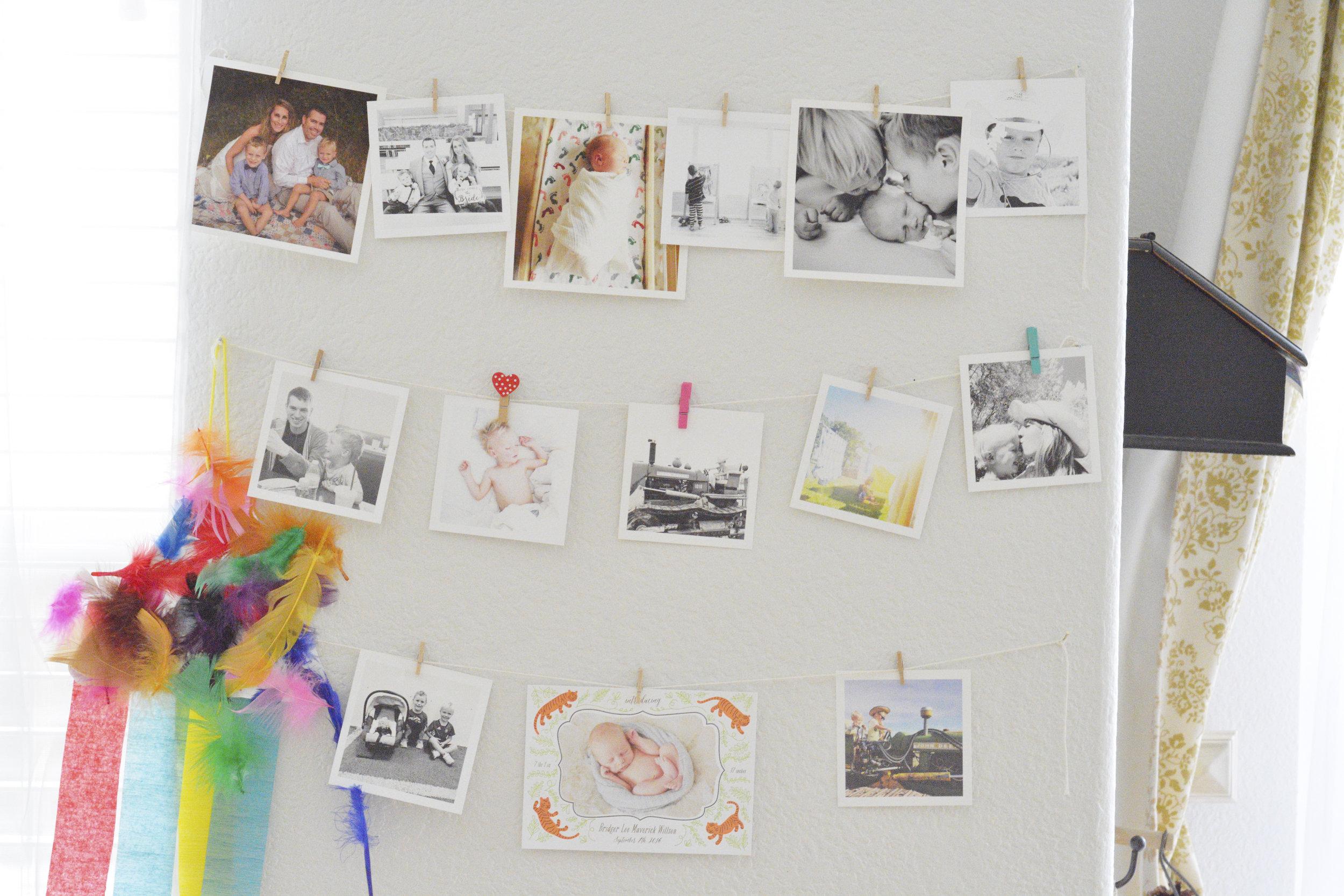 Square photo prints with Parabo Press