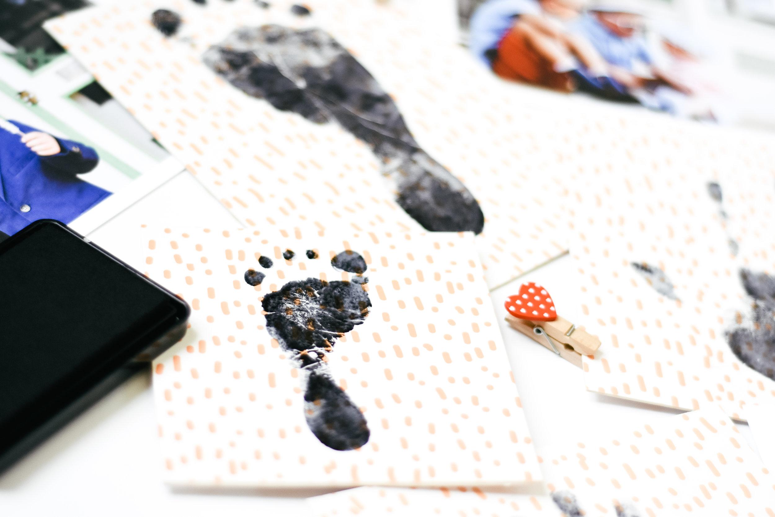 Footprint DIY project