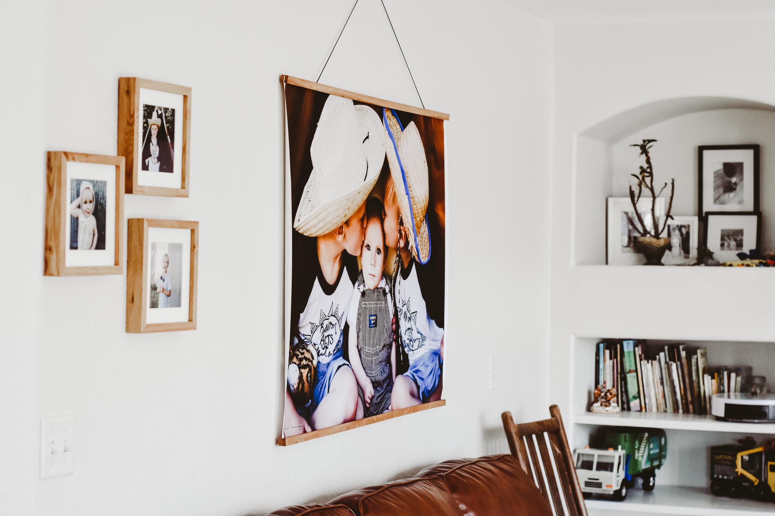 Home decor printed photos
