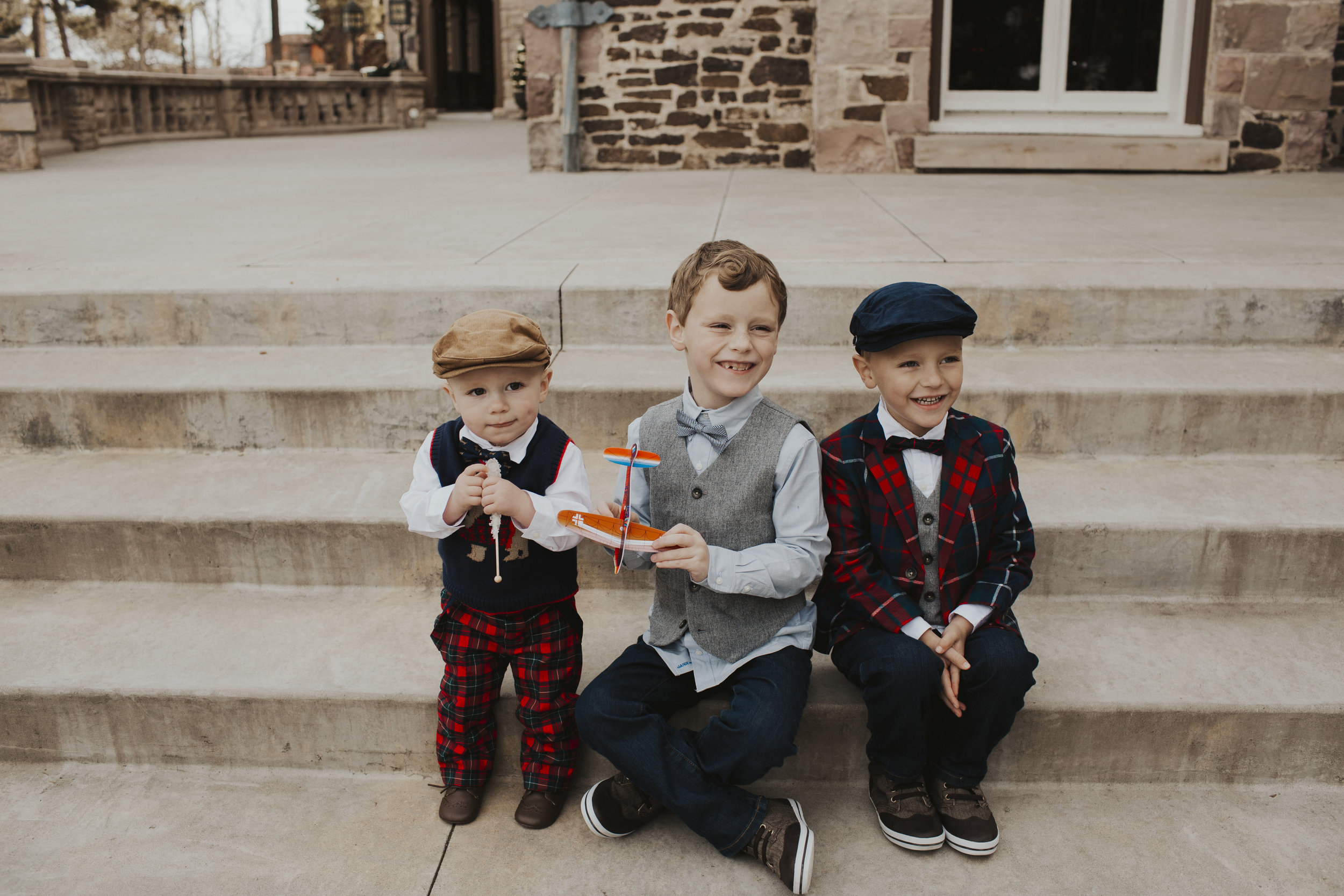boy outfit holiday ideas with Janie and Jack