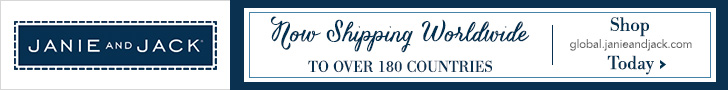Free shipping with Janie and Jack