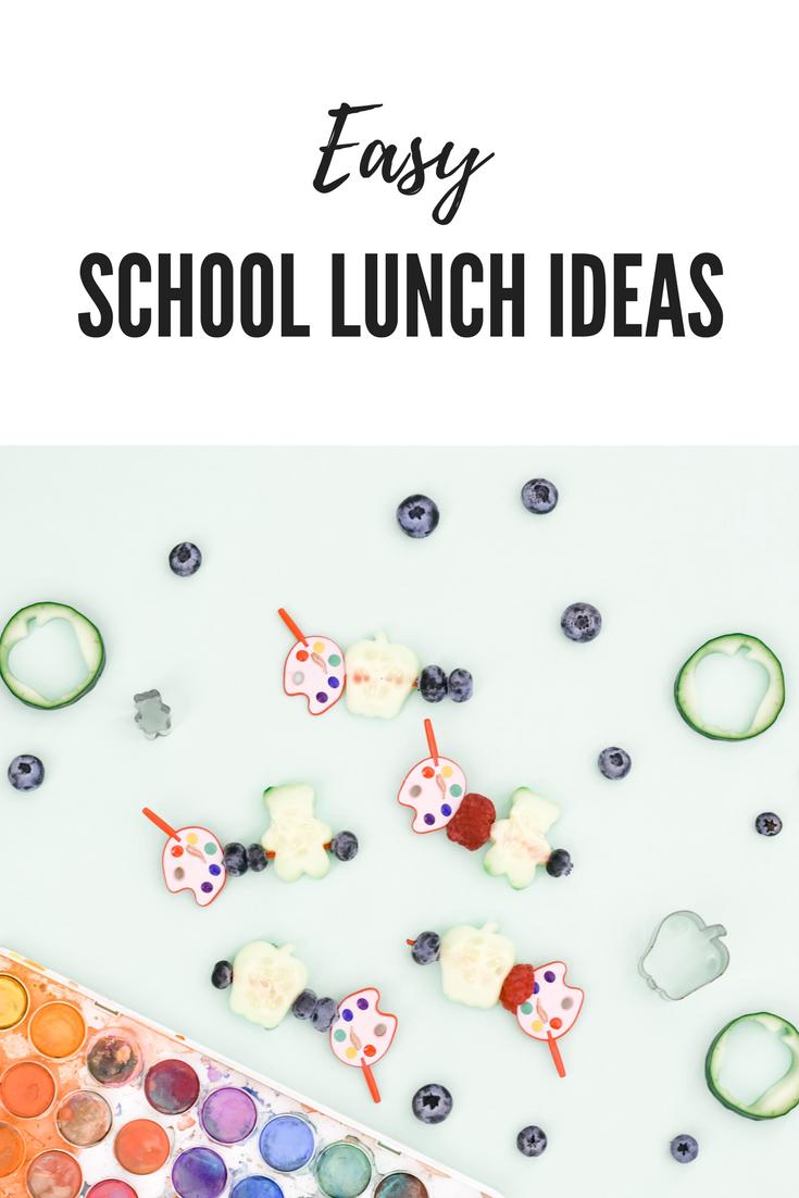 Easy School Lunch Hack, gluten free lunch ideas