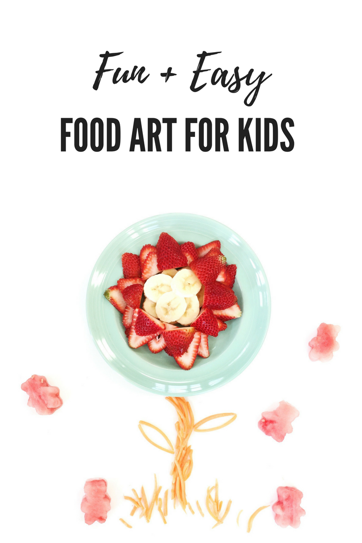 Fun & Easy food art for kids. Easy lunches. Toddler Snacks