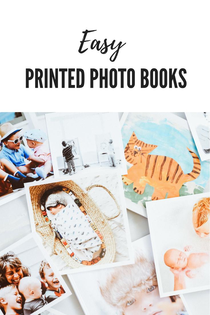 Easy printed Photo Books