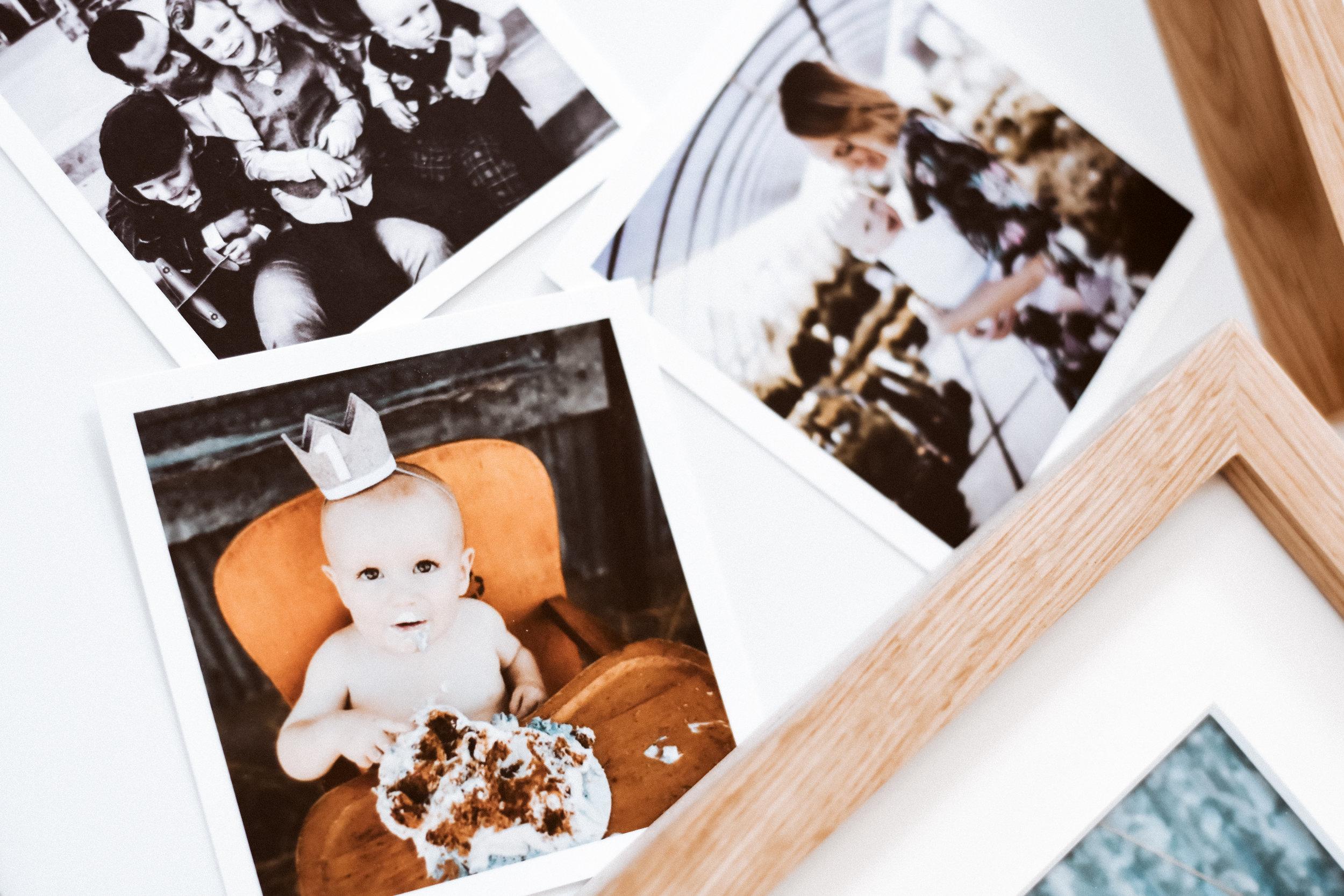 Diy digital printed photos