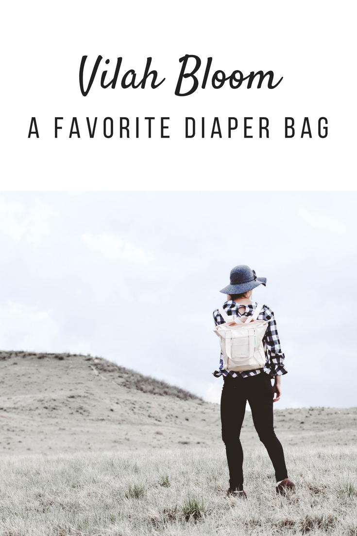 Vilah Bloom a favorite diaper bag