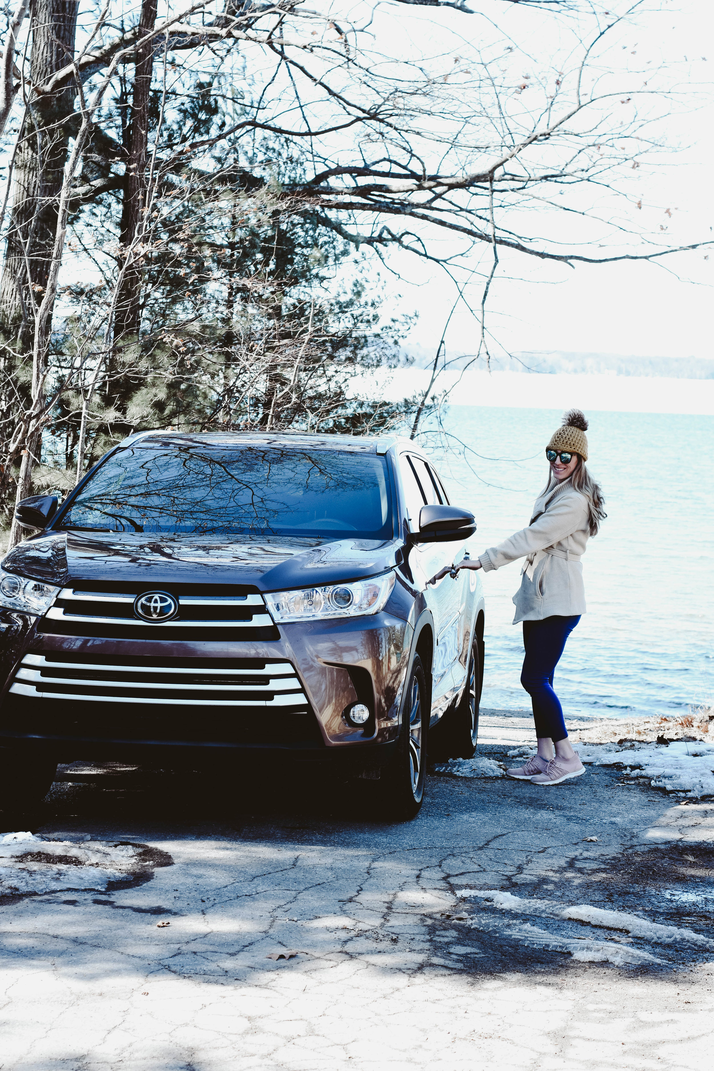 Toyota Highlander, best hikes in Traverse City
